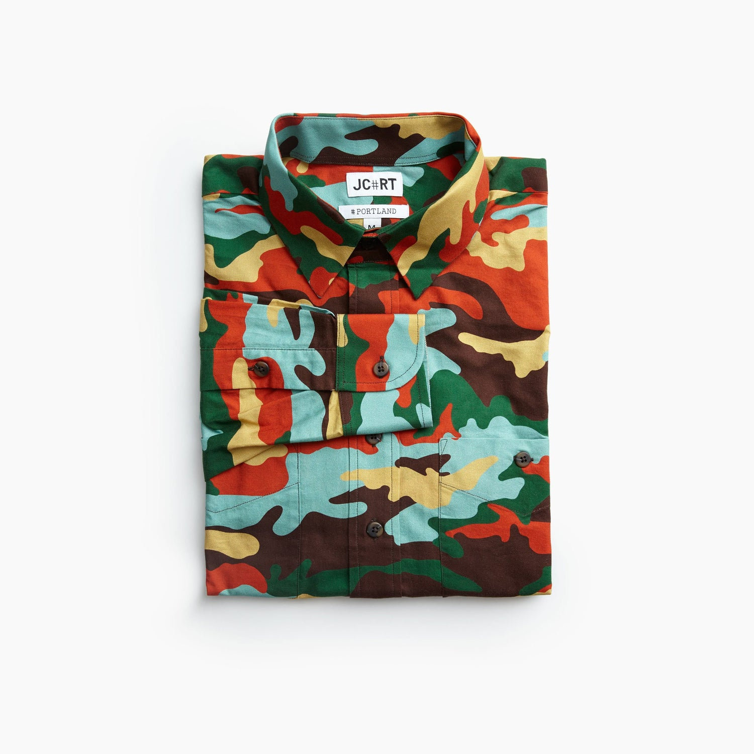The M1942 Camouflage Plaid Shirt