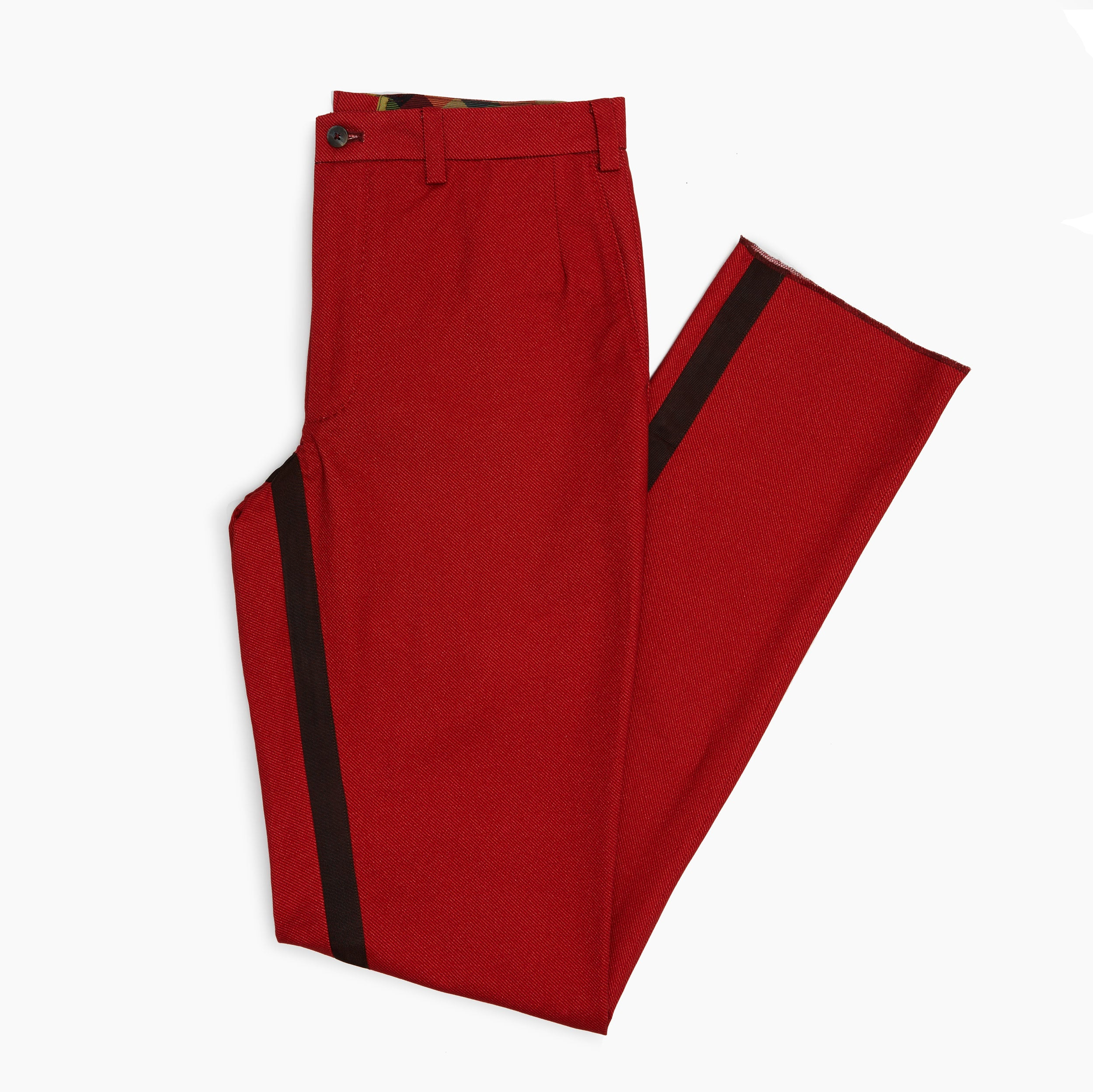 The Winter Tomato Twill Trouser