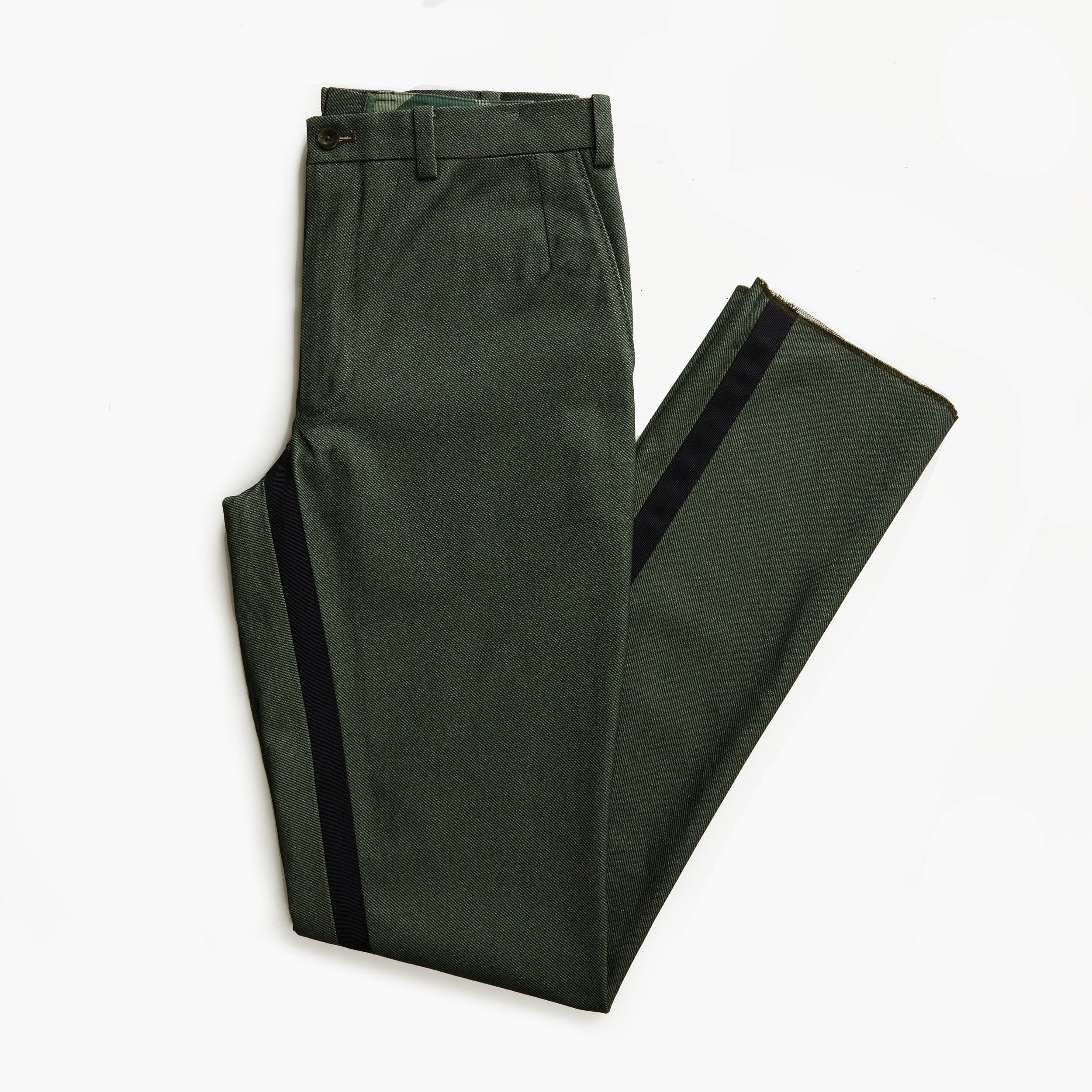 The New England Gray Twill Trouser