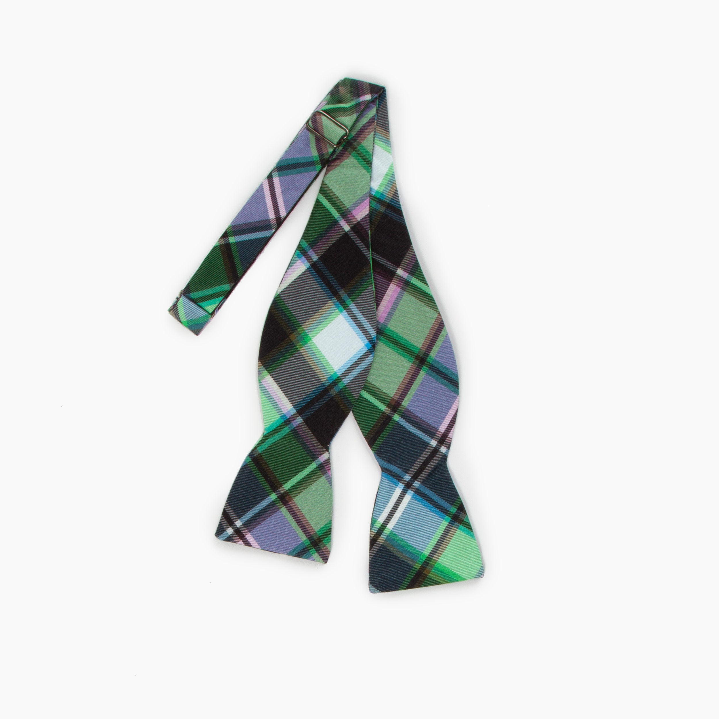The Reckoning Plaid Butterfly Bowtie