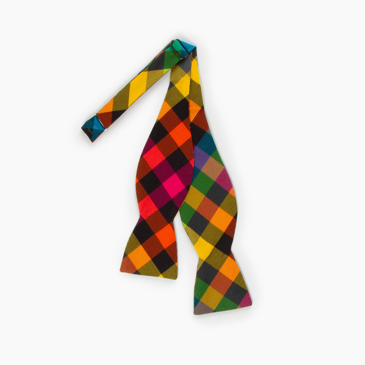 The 3 Feet High and Rising Plaid Butterfly Bowtie