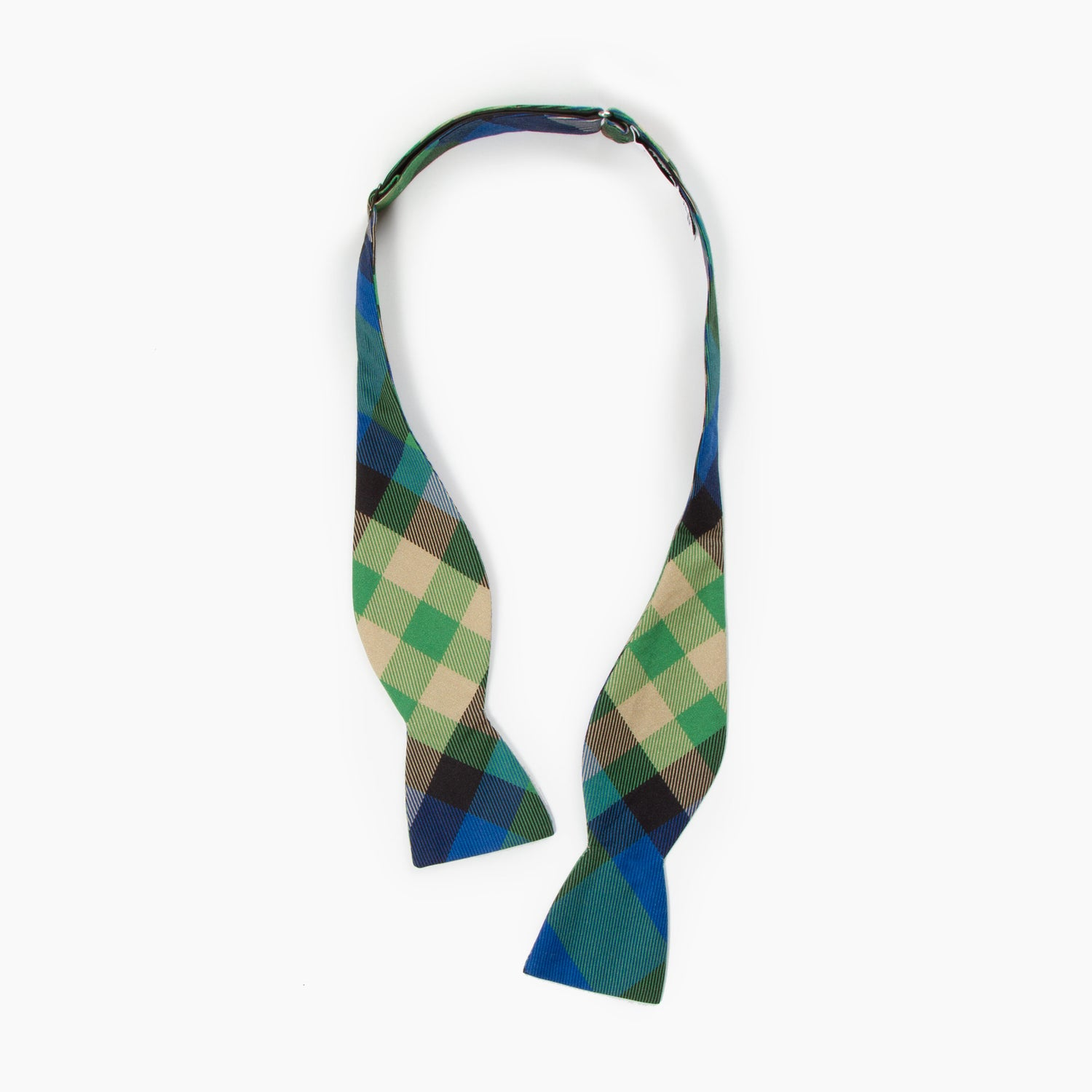 The Hobbit Plaid Butterfly Bowtie
