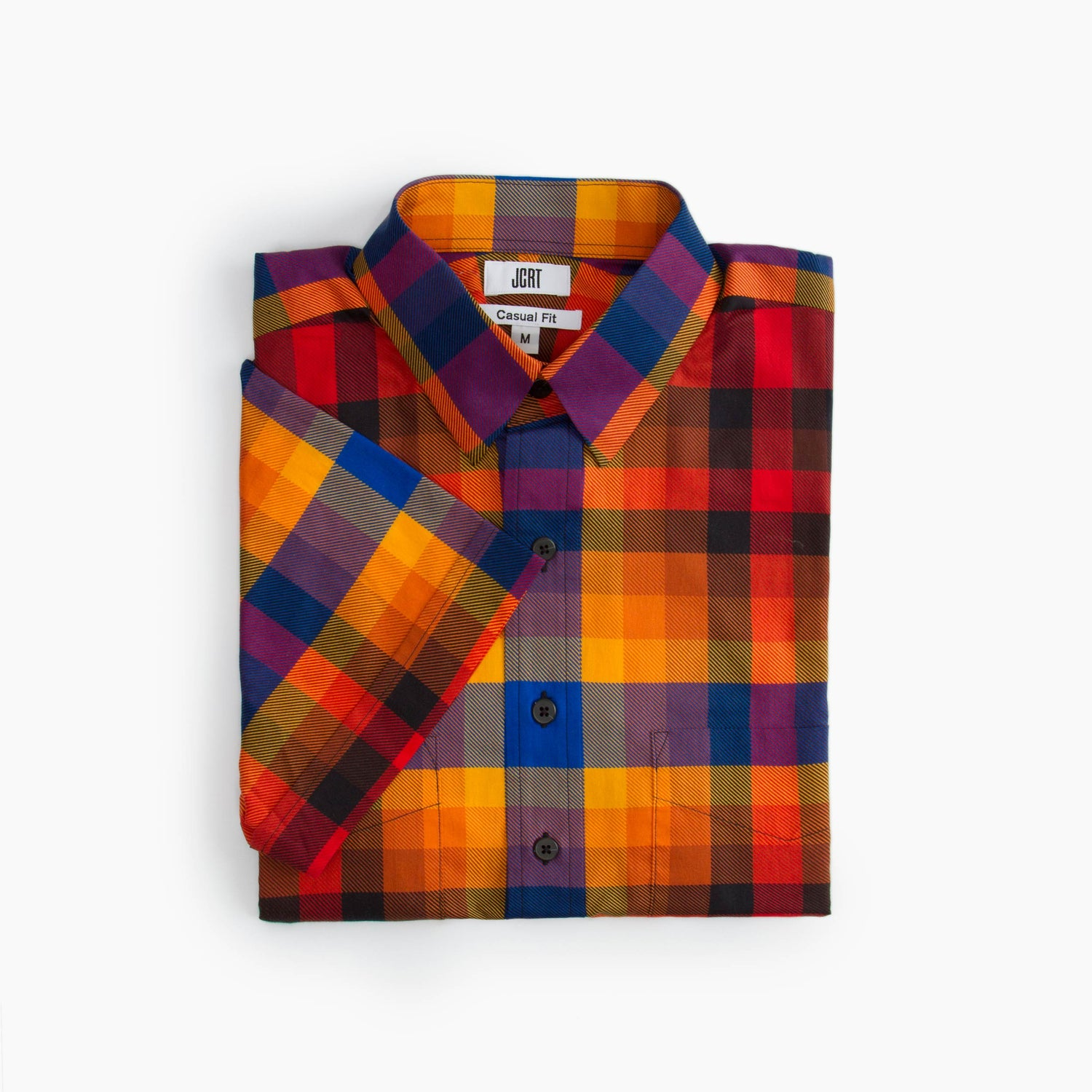 The Dig Dug Plaid Short Sleeve Shirt