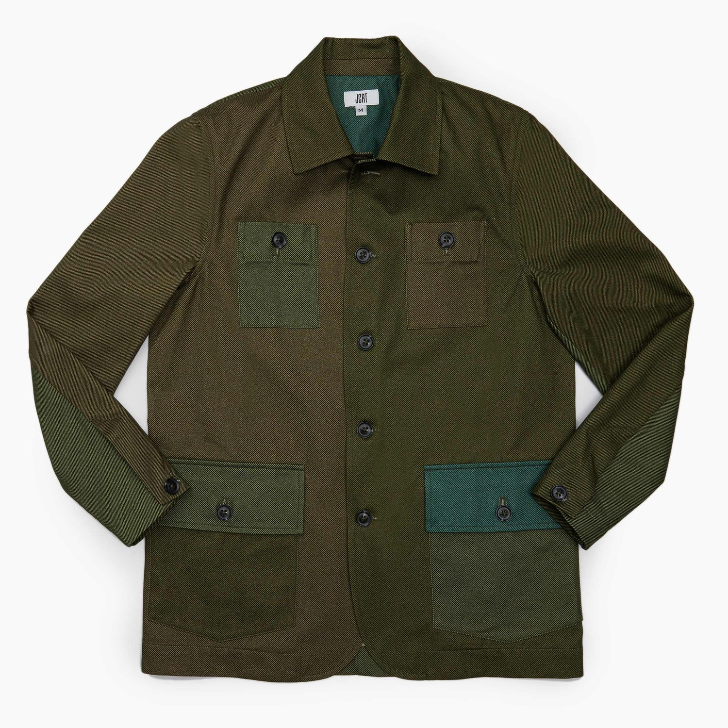 The Leaf Green Twill Country Jacket