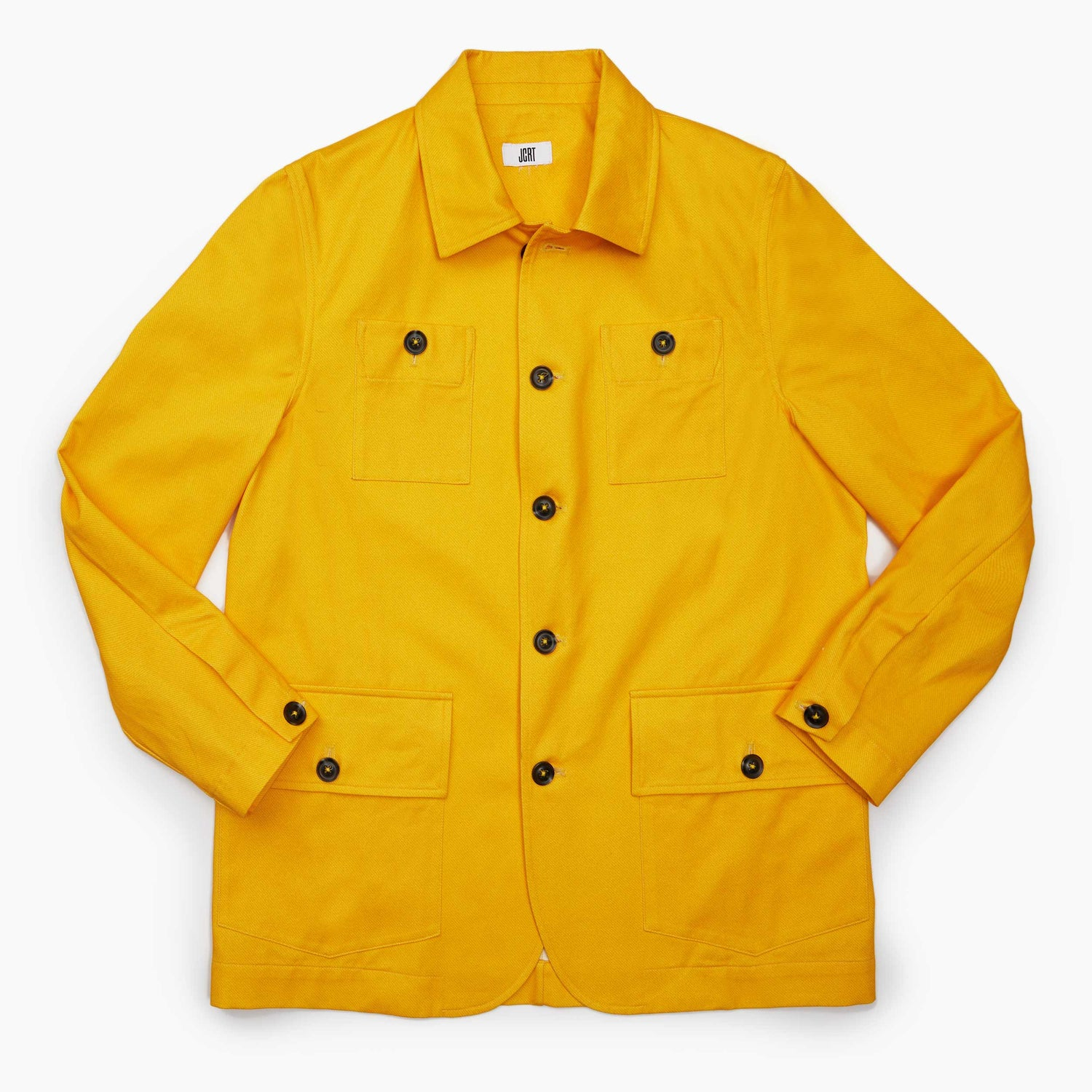 The Yellow Paddington Twill Country Jacket