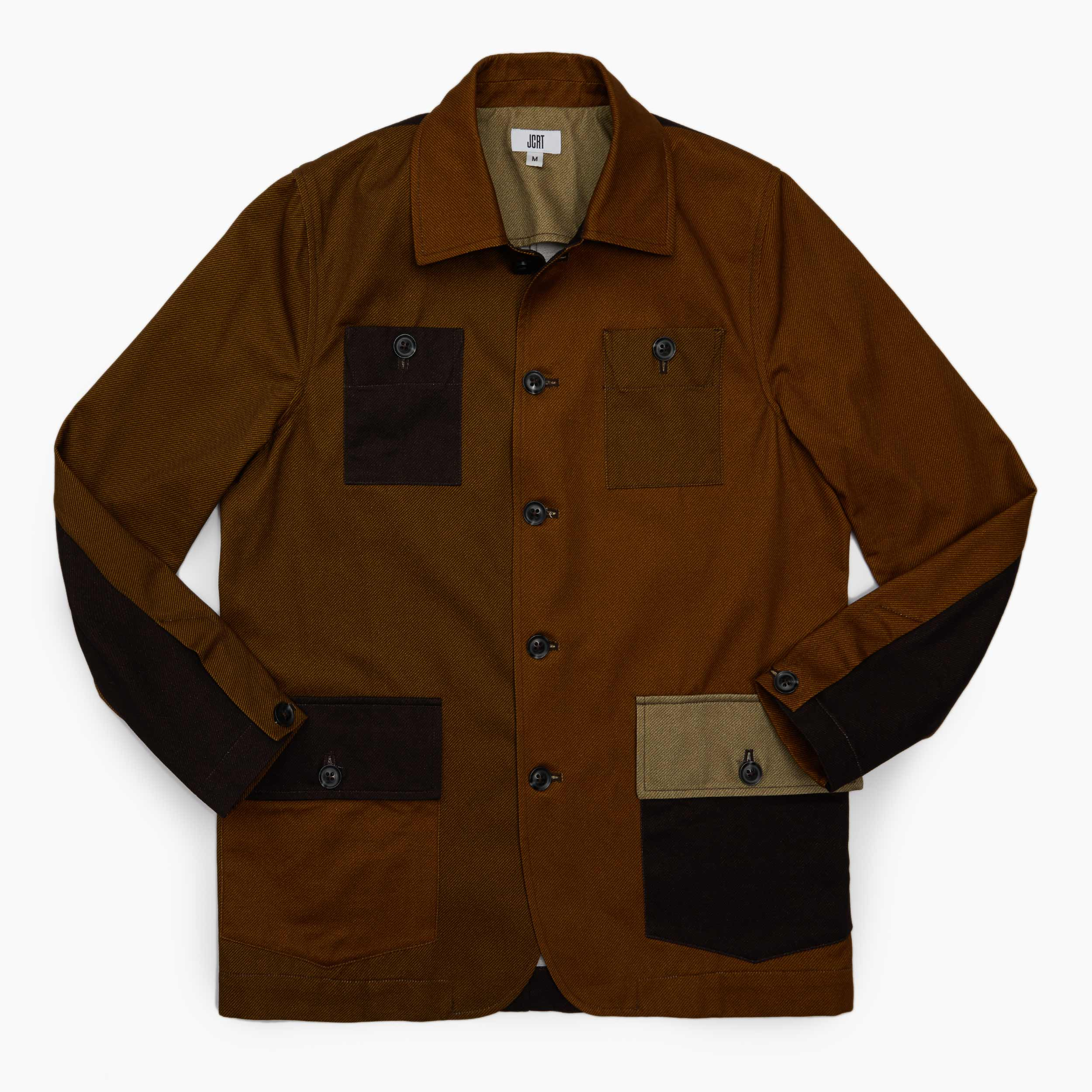 The Leather Twill Chore Coat