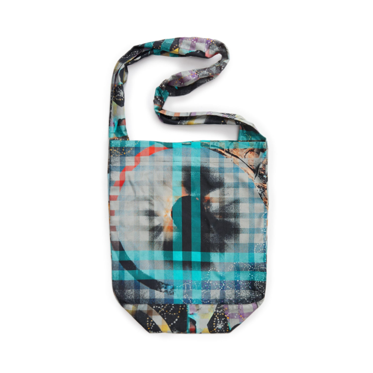 Birdseye View Plaid Shoulder Bag