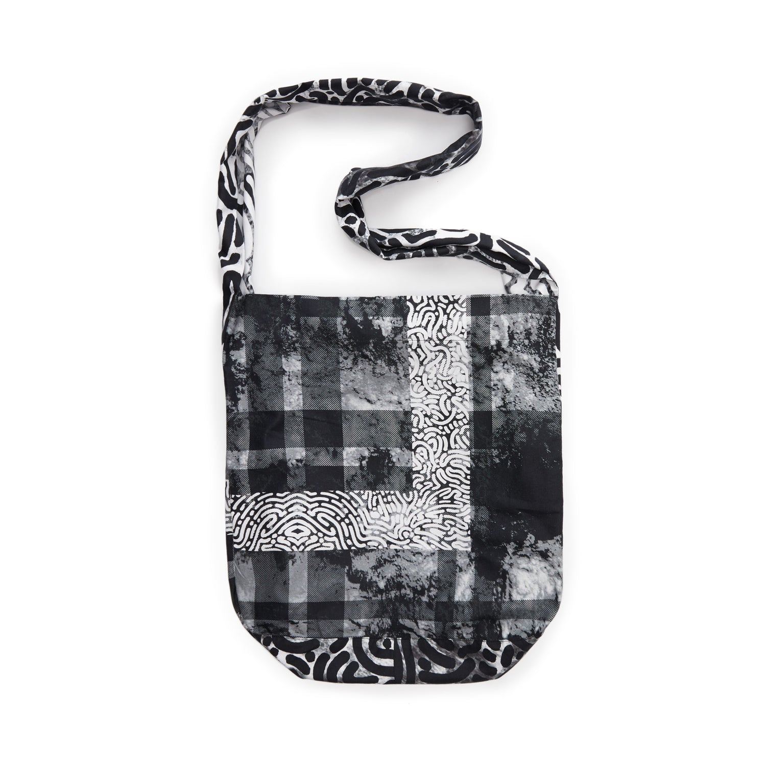 Stalagmite Frame Plaid Shoulder Bag