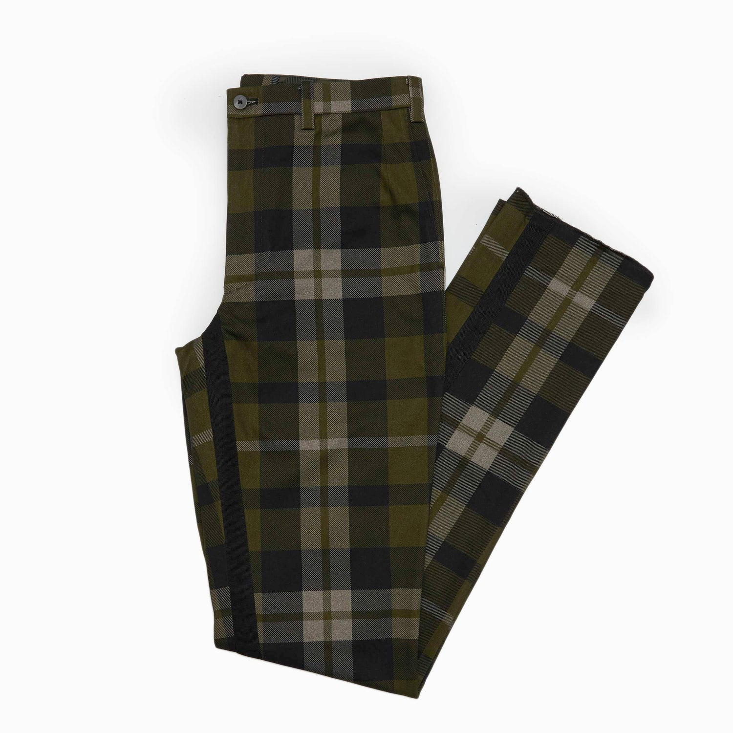 The Fort Plaid Trouser