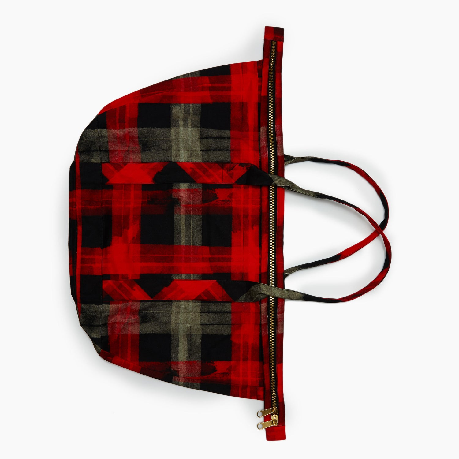 The Buffalo Marker Plaid Satchel