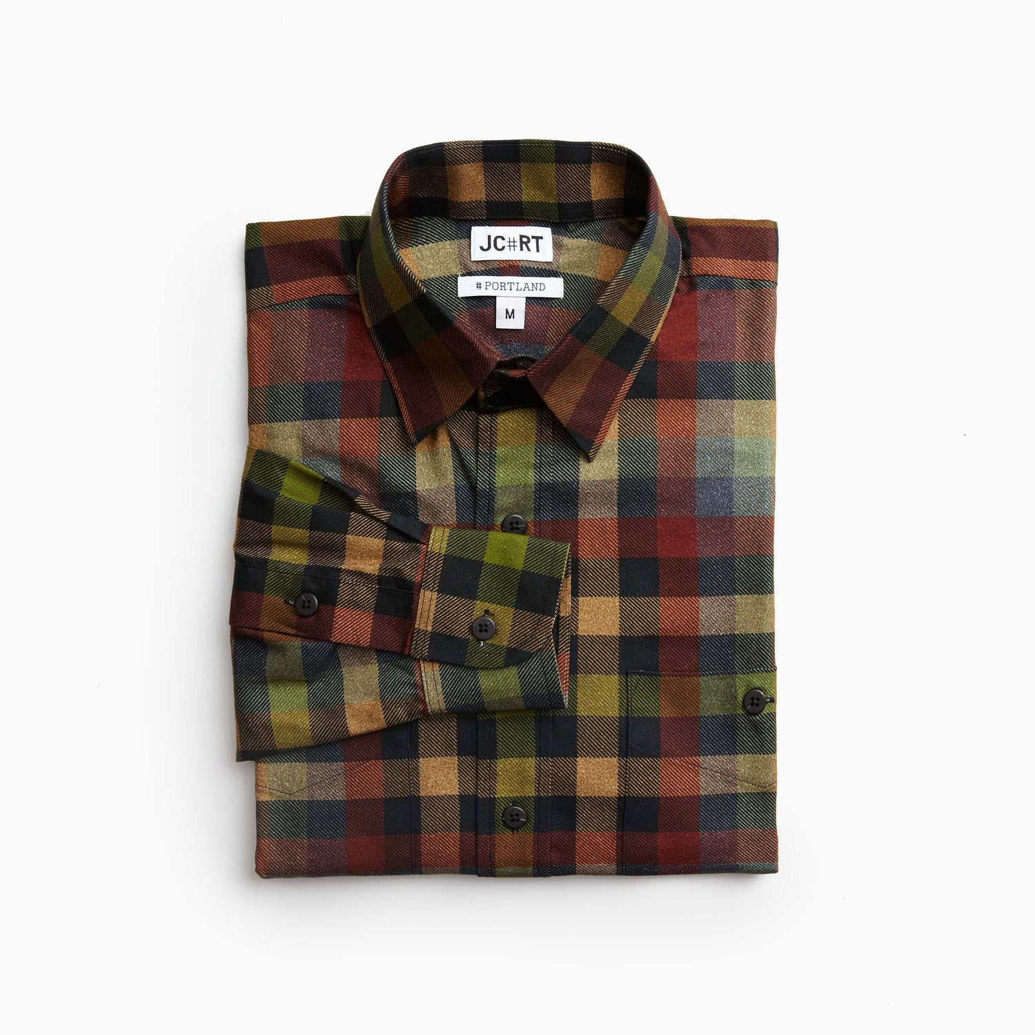 The UK No9 Dress Flannel Plaid Shirt