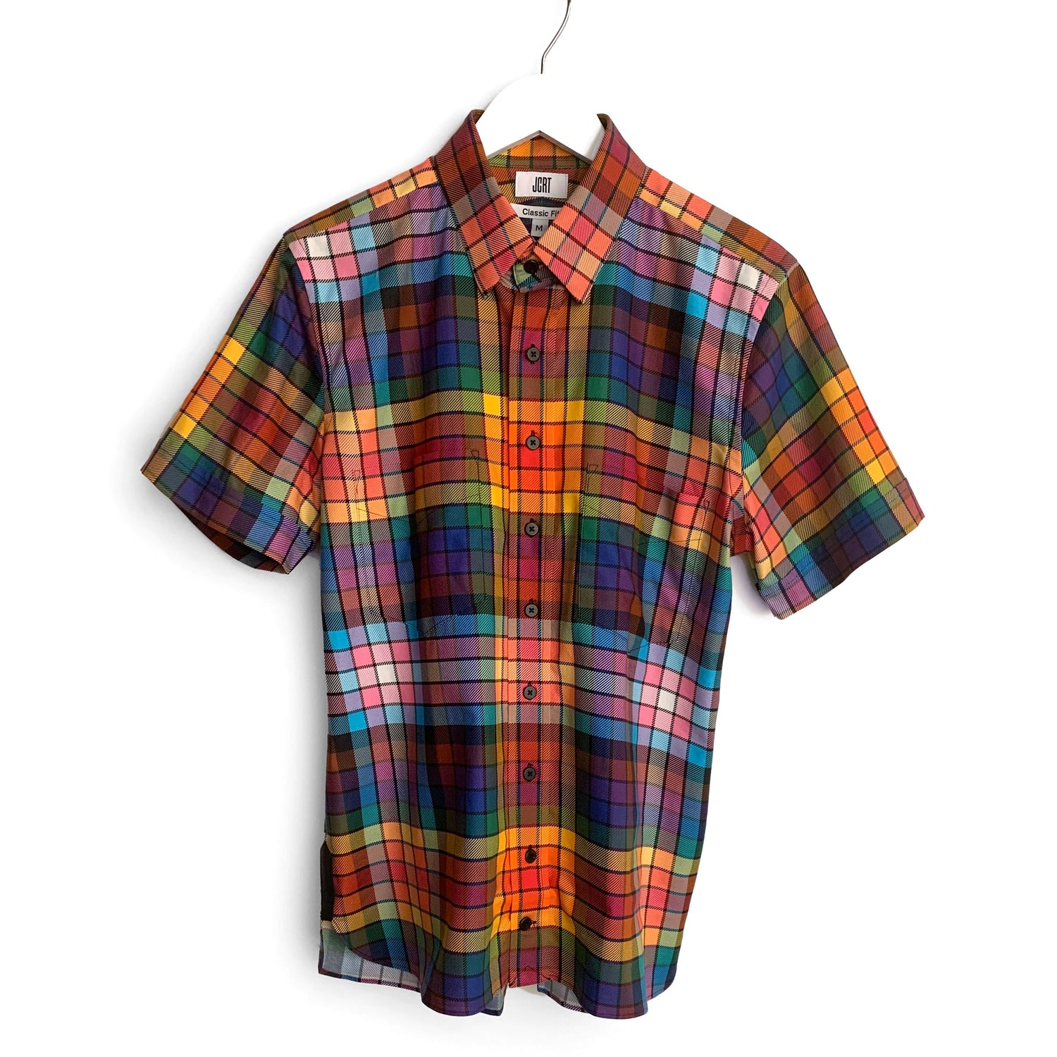 The Pride Plaid Short Sleeve Shirt