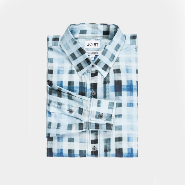 The Brushed Grid Plaid Shirt