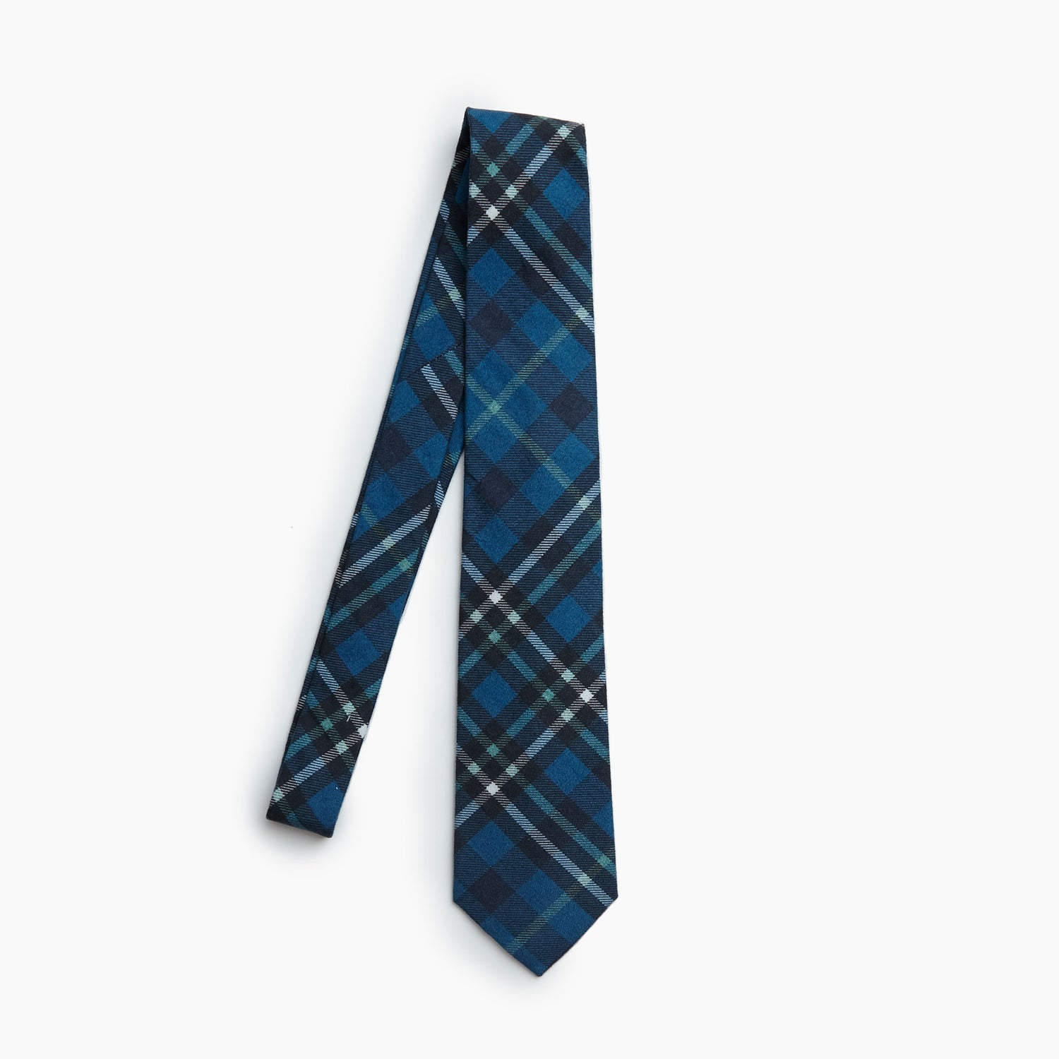 The Grandpa Fishermans Vintage Flannel Self Tipped Tie