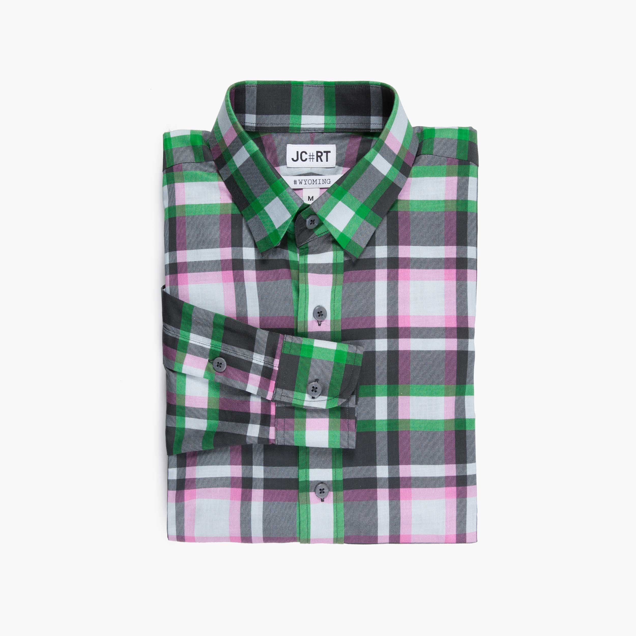 The London Calling Plaid Shirt