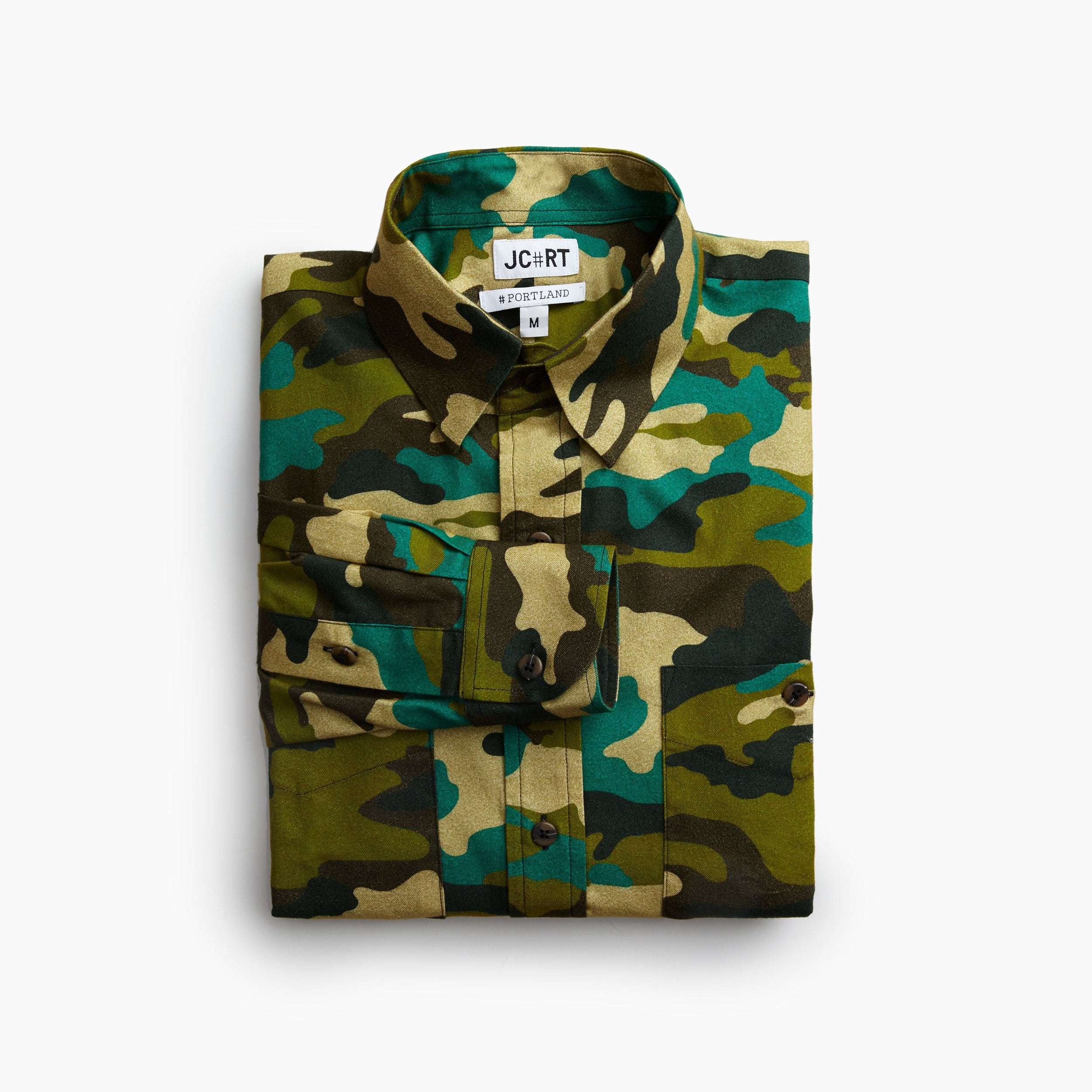 The WW2 Parachute Camouflage Flannel Shirt
