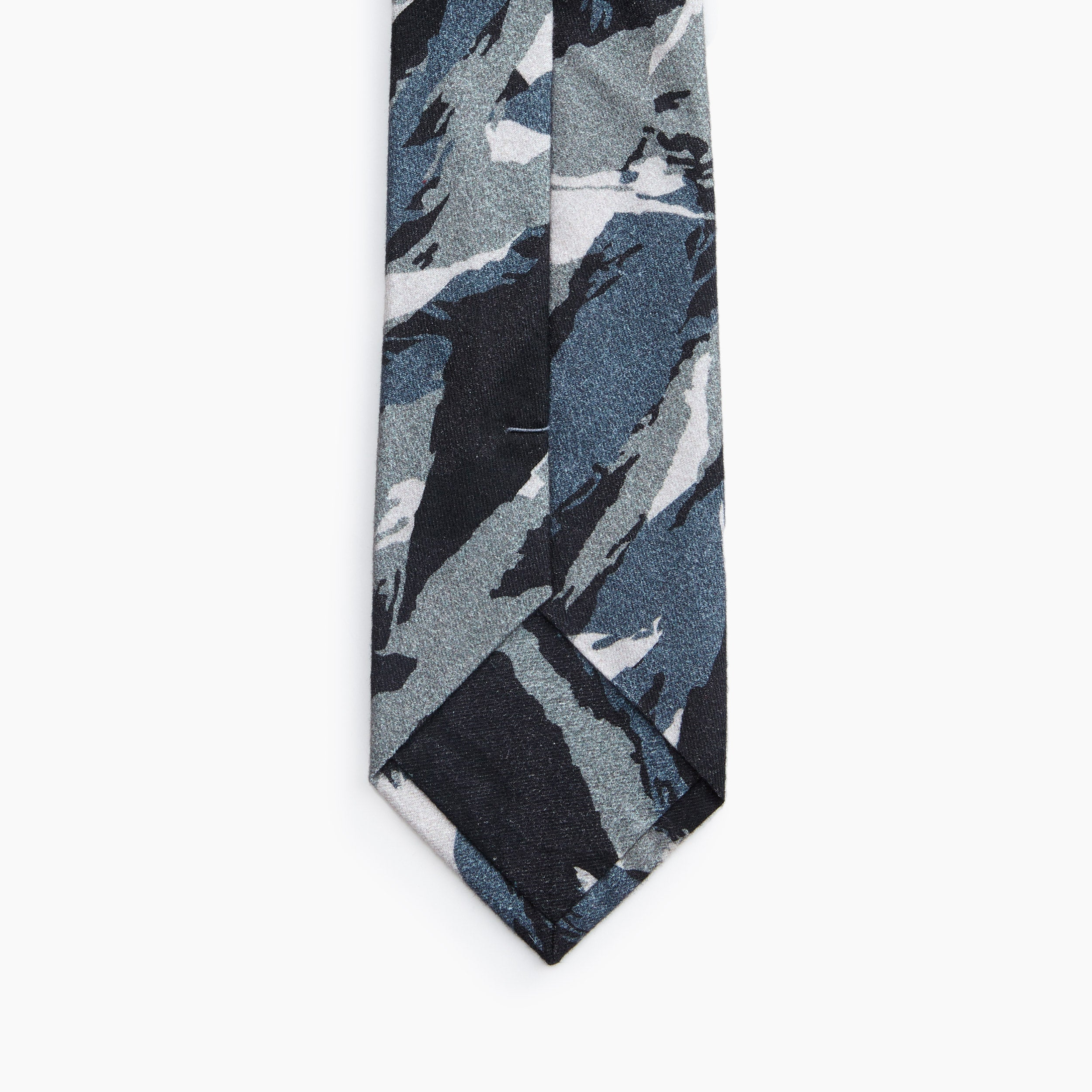 Self Tipped Tie | The Greek Army Special Forces Camo Image