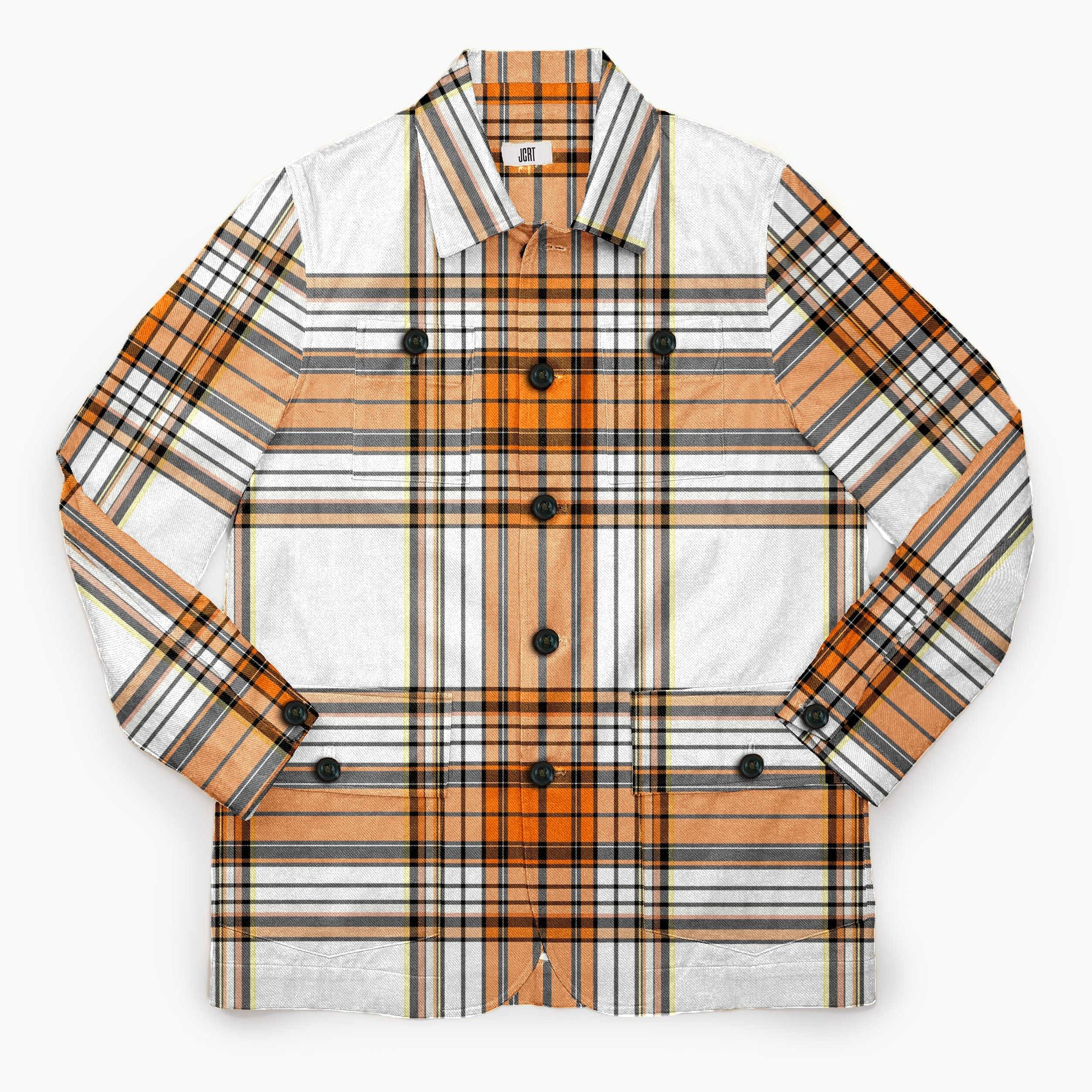 The A Clockwork Orange Beethoven Plaid Chore Coat