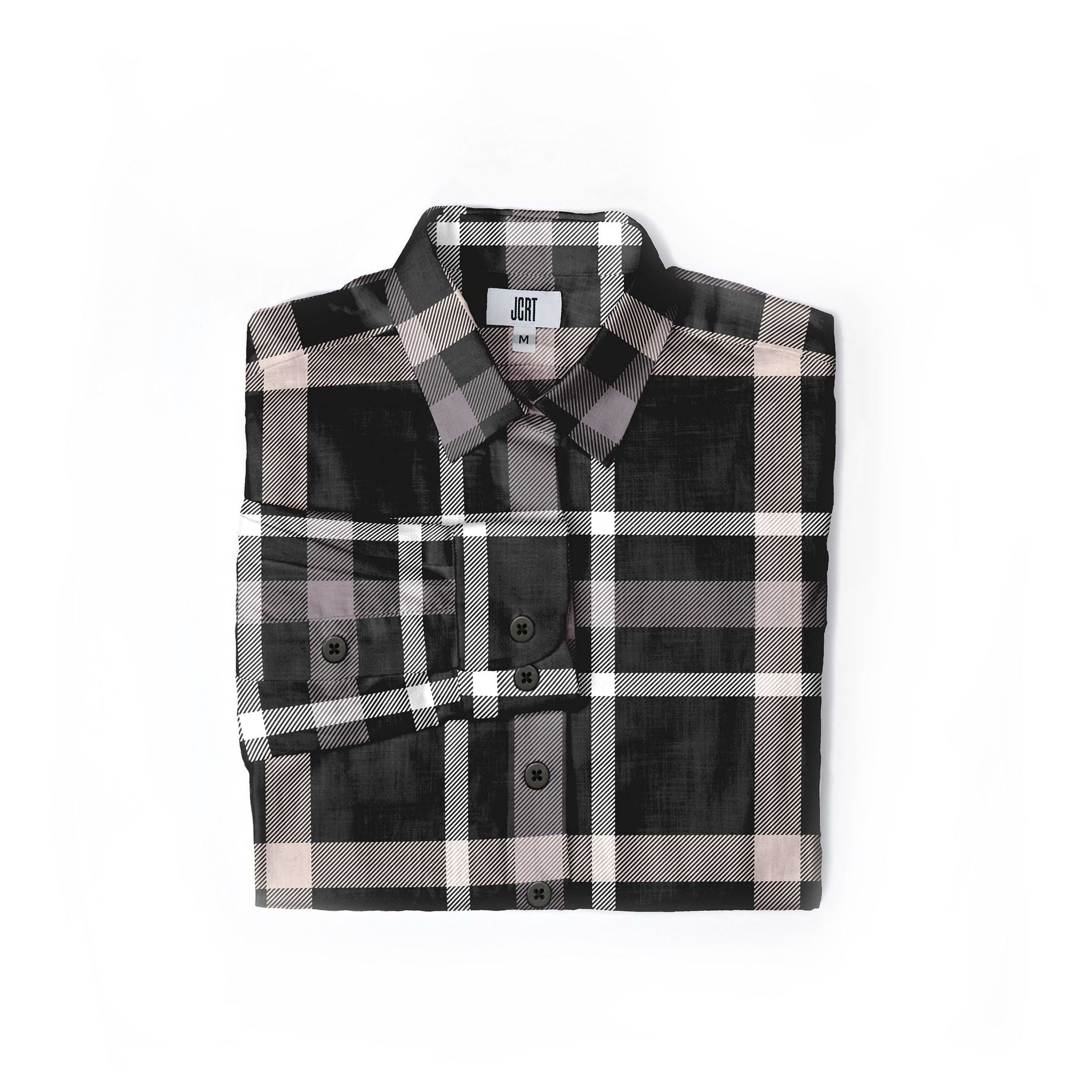 The Just Kids Plaid Women's Long Sleeve Shirt