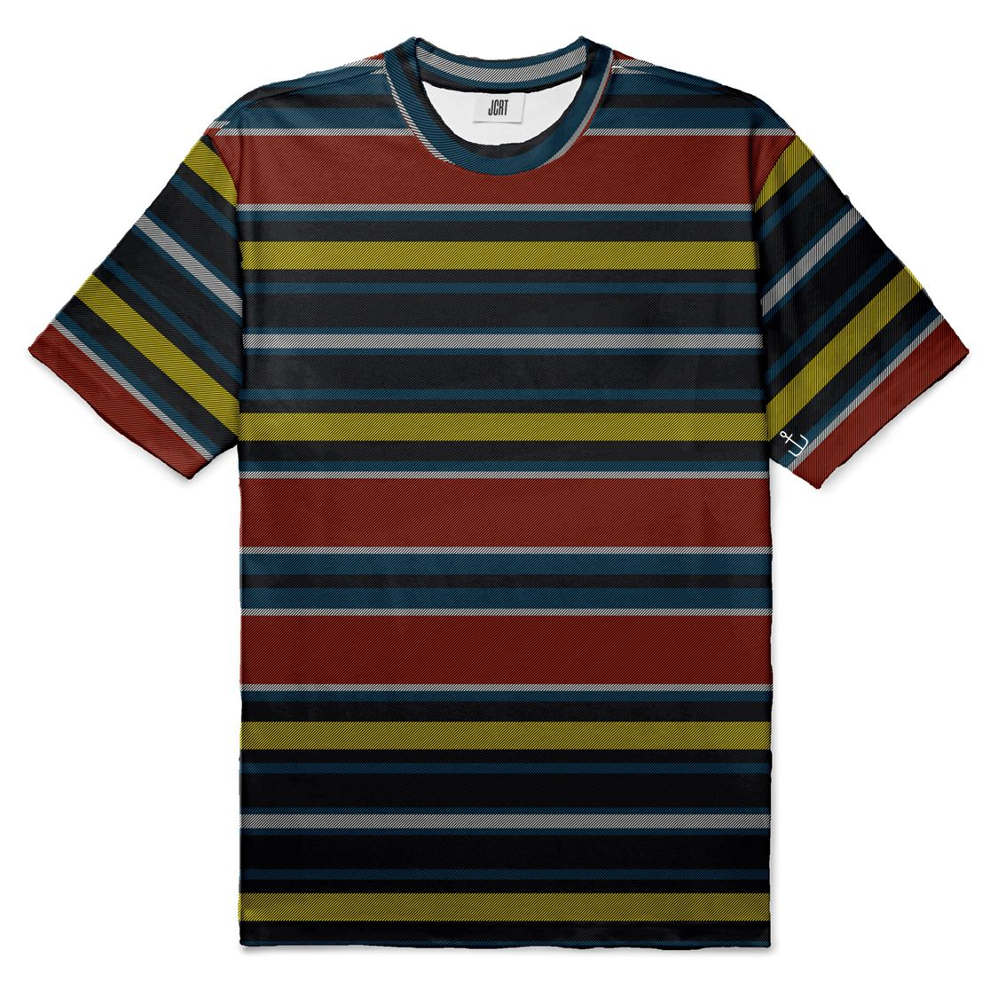 The Vintage Red and Yellow Stripe T-Shirt