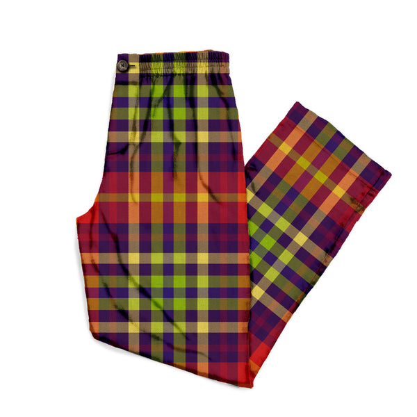 The Heaven Or Las Vegas Plaid Lounge Pant