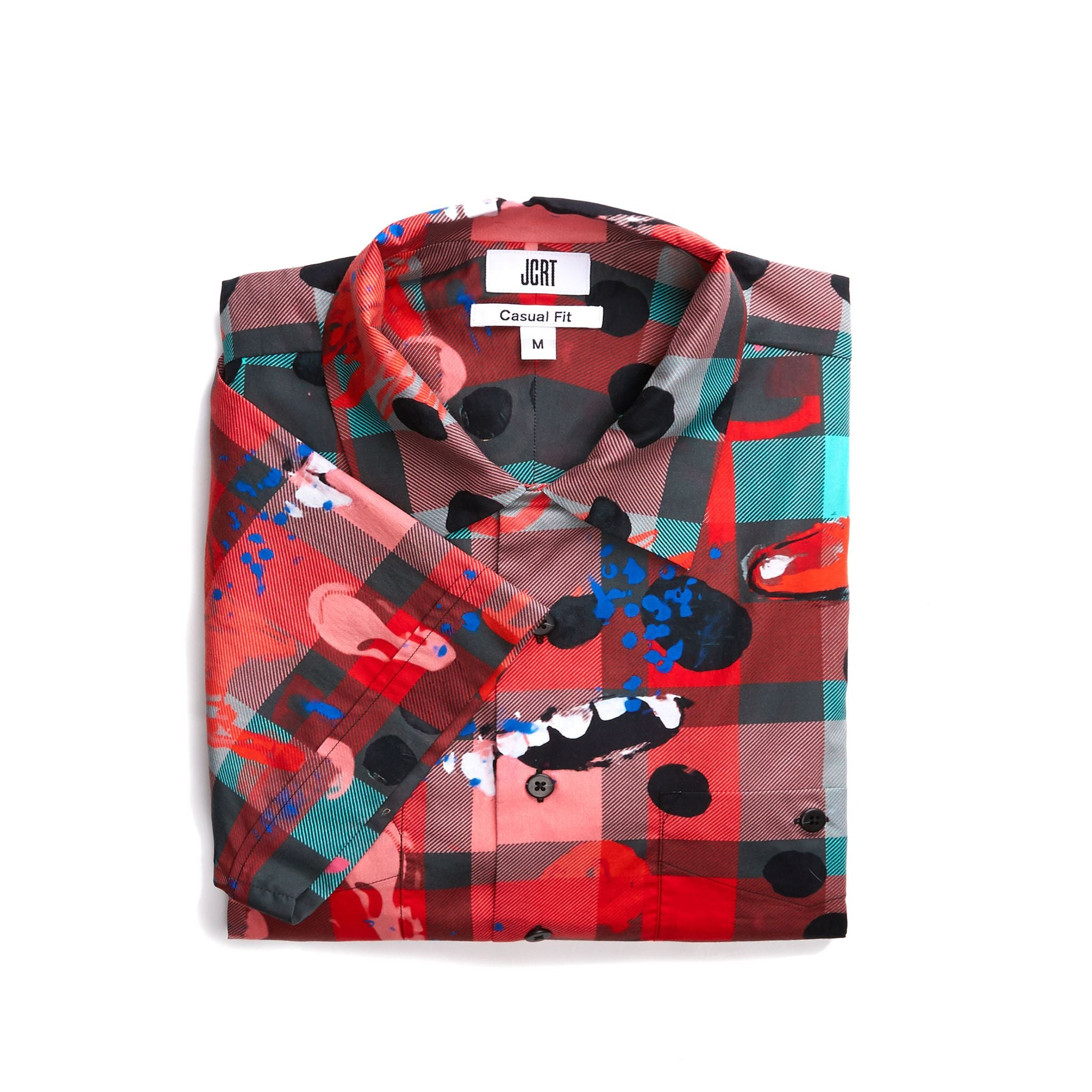The Scooter Clutter Plaid Short Sleeve Shirt