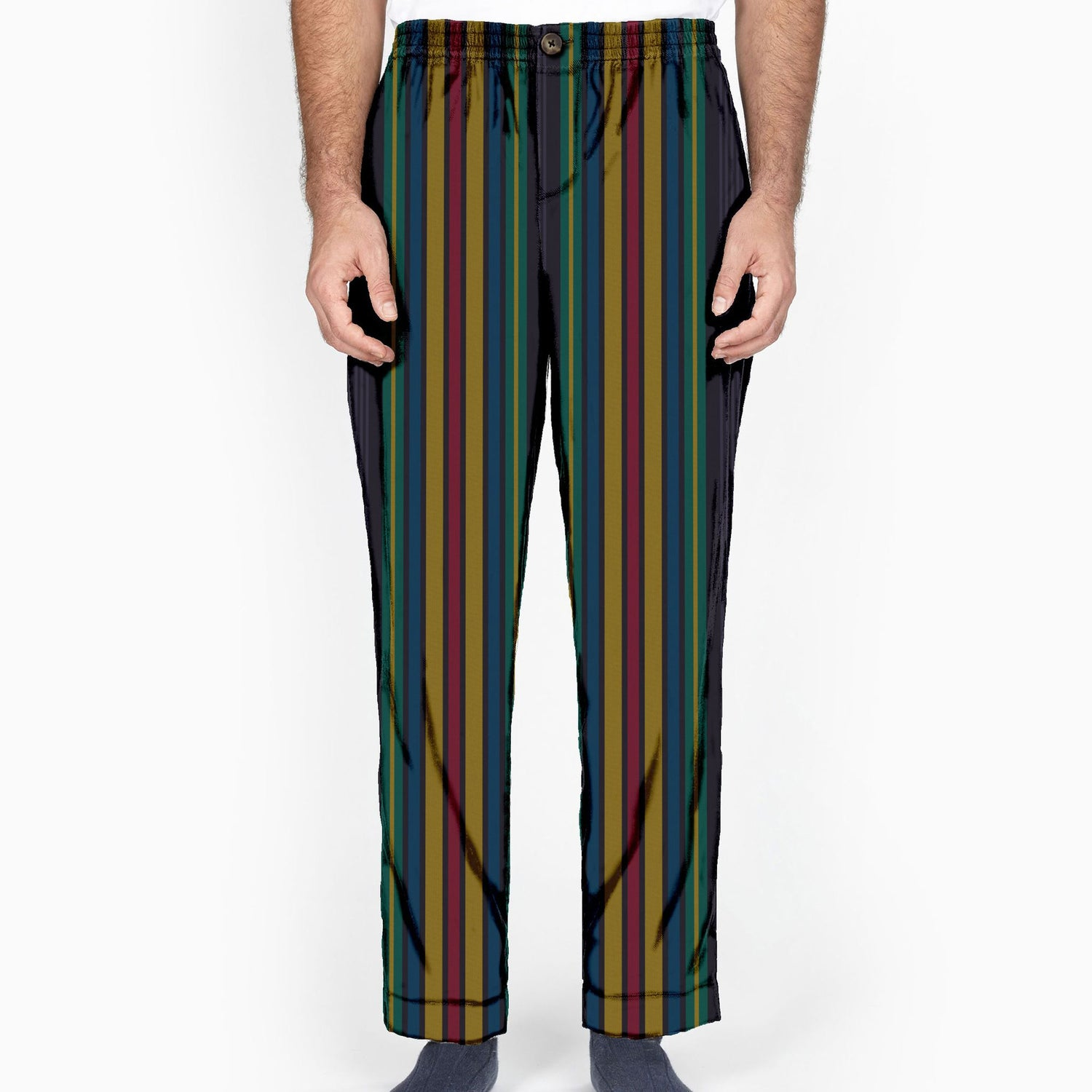 The Gala Stripe Flannel Lounge Pant