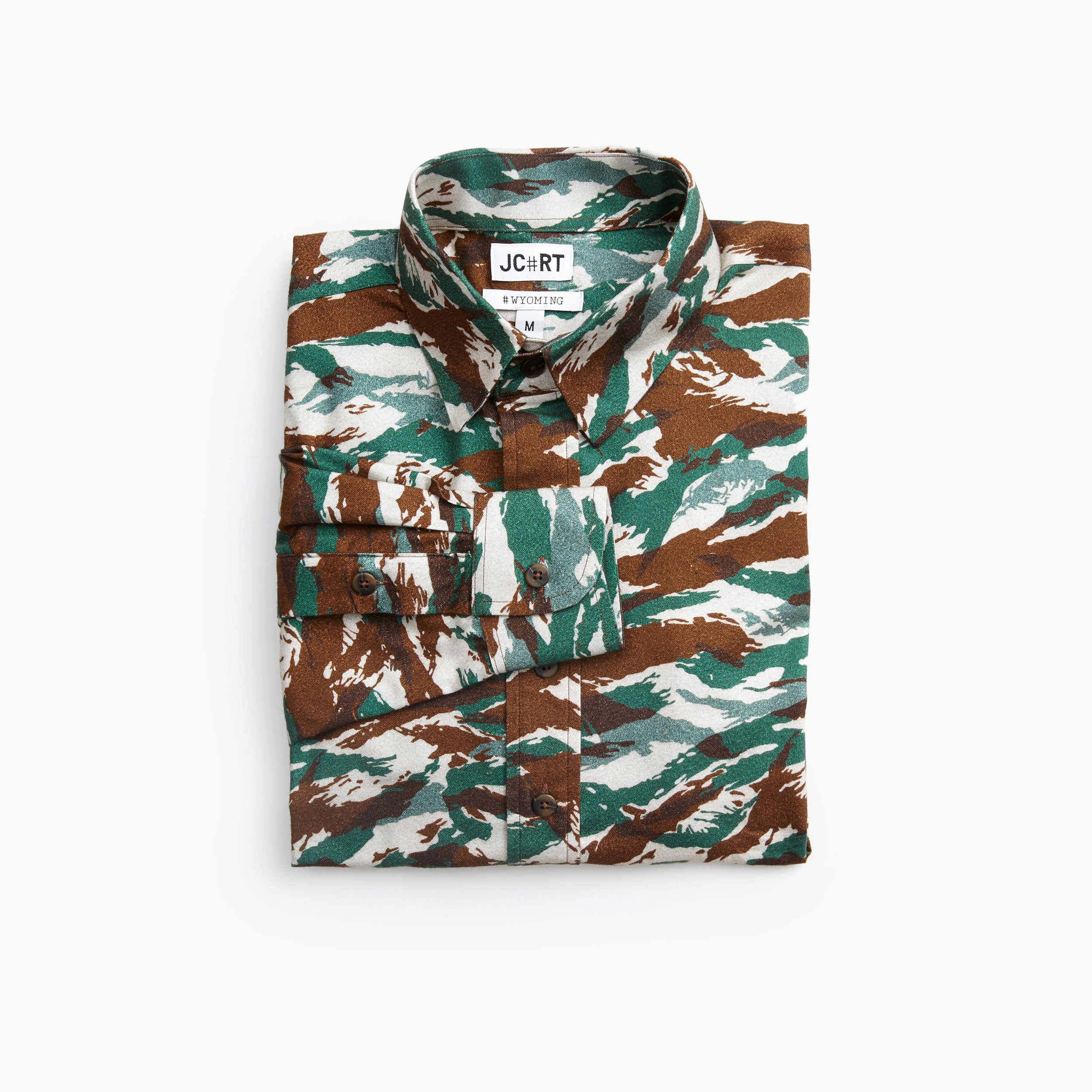 The Hungary Desert Camo Flannel
