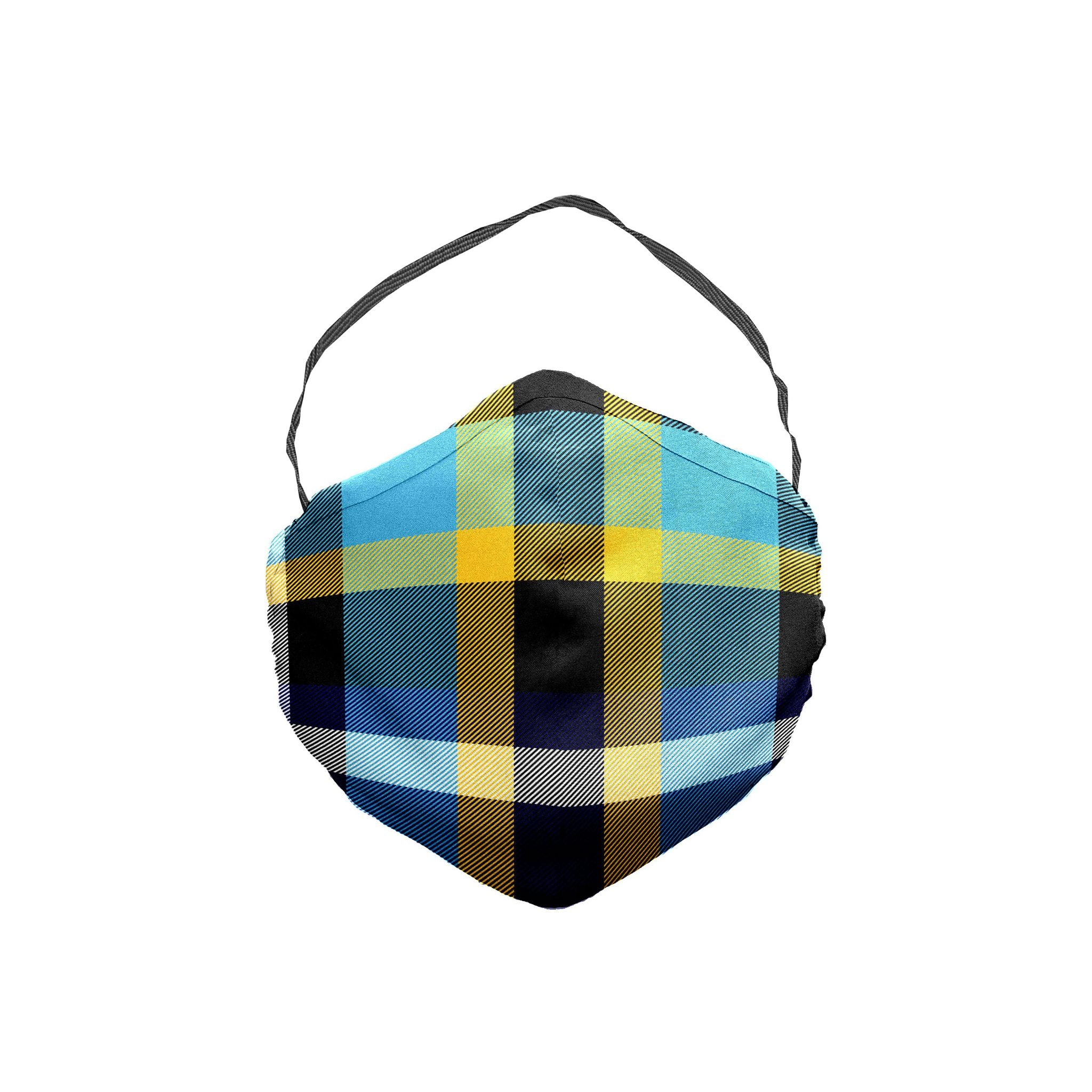 The New York Plaid Face Mask 5 Pack