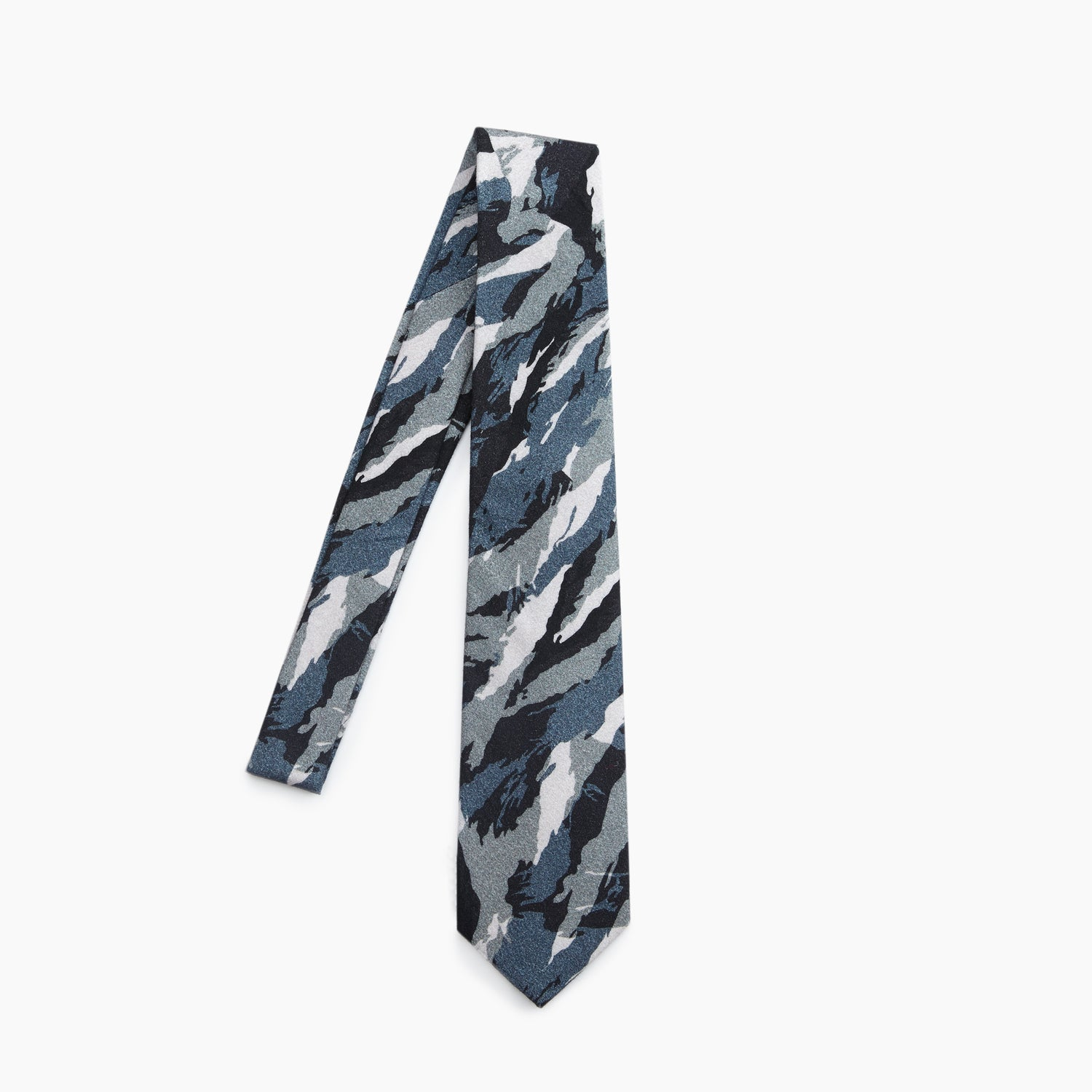 The Greek Army Special Forces Camo Self Tipped Tie