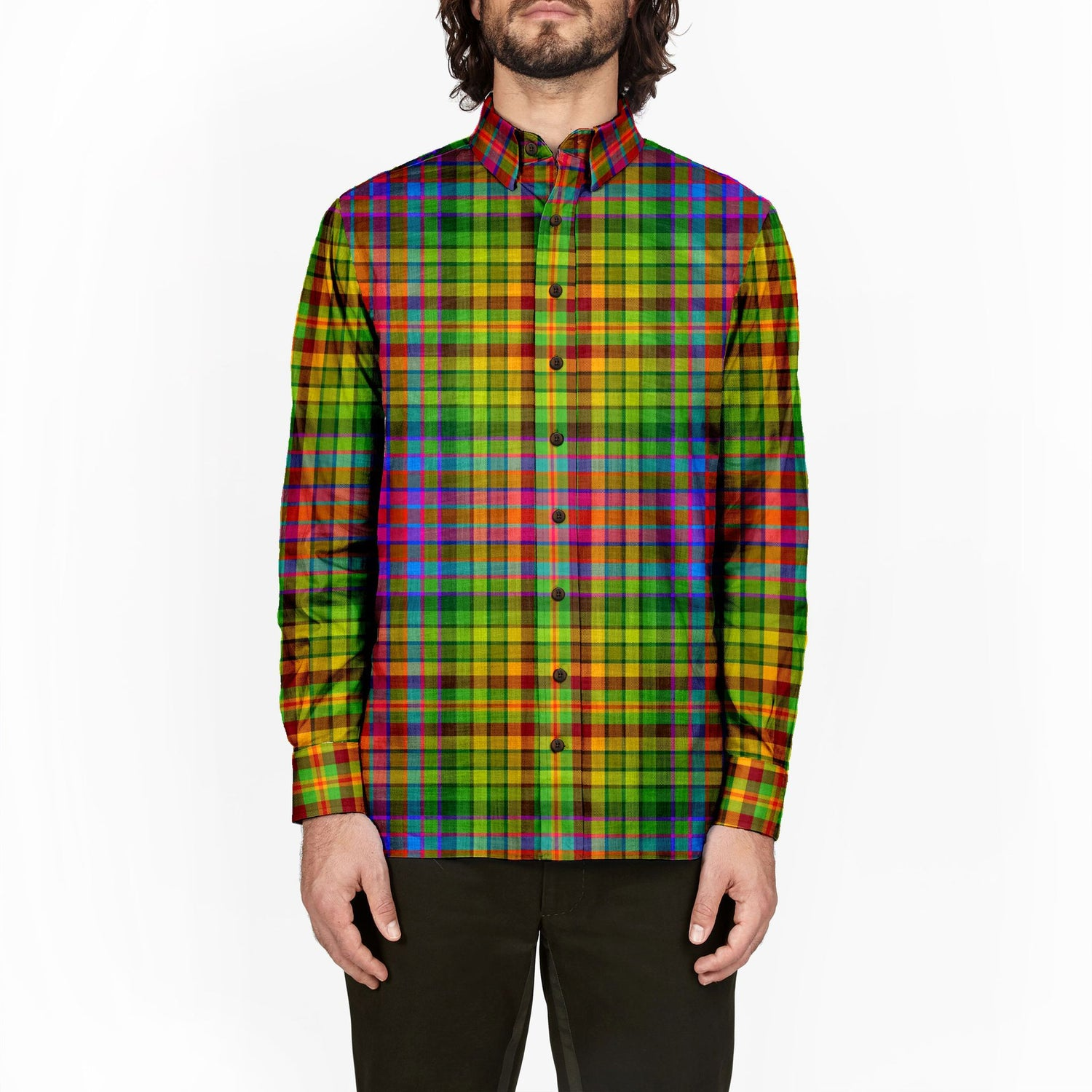 The Xmas Tree Plaid Flannel
