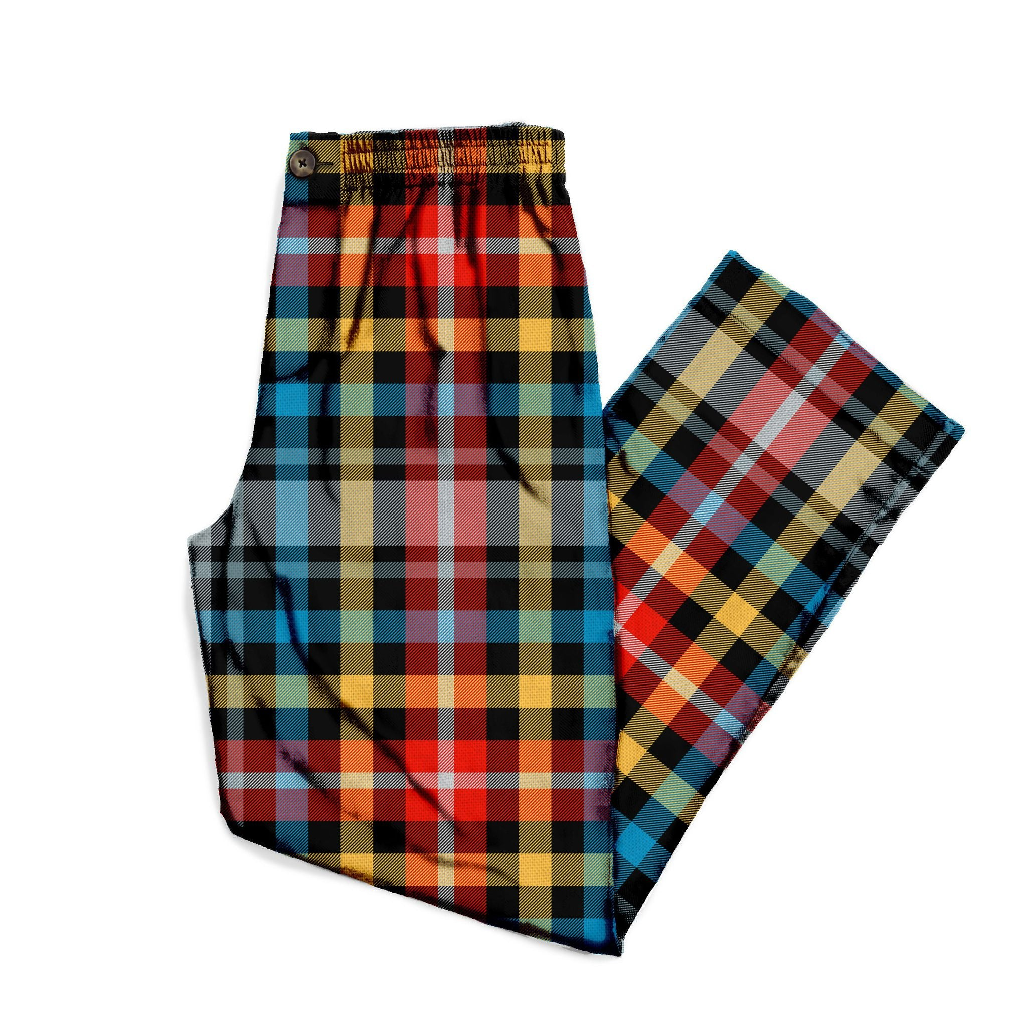The Out Of The Blue Plaid Lounge Pant