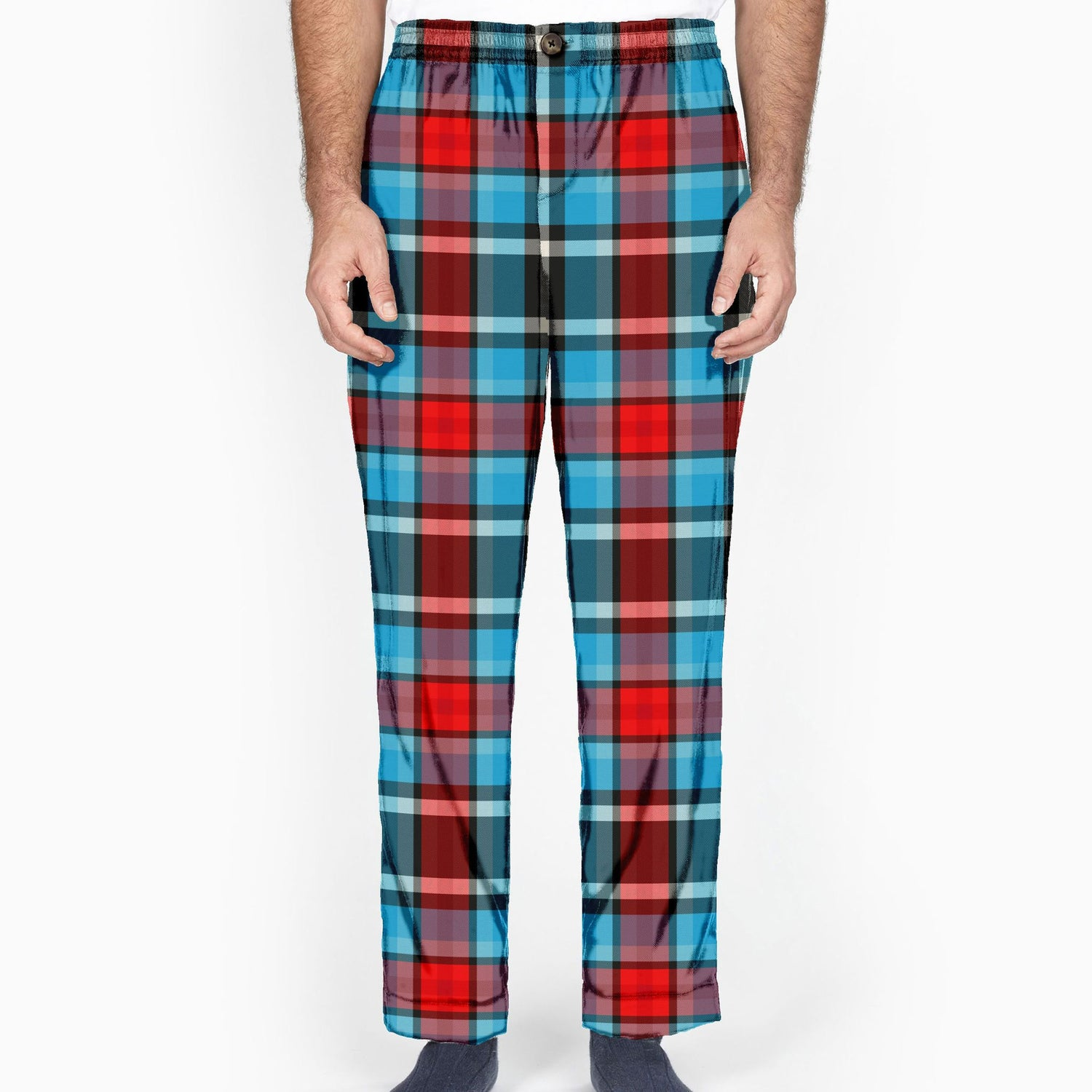 The Remain In Light Plaid Flannel Lounge Pant
