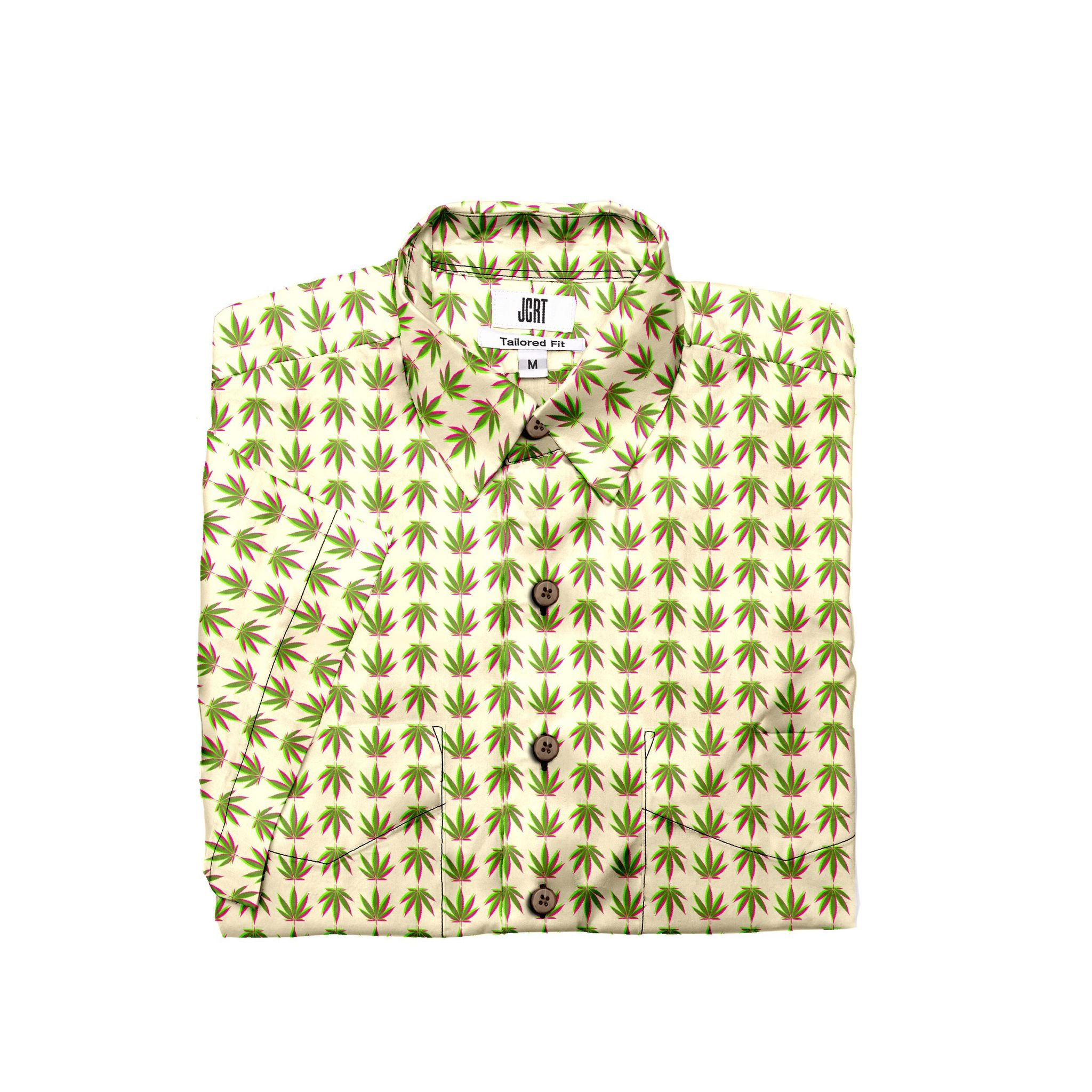 The Sativa Plaid Short Sleeve Shirt