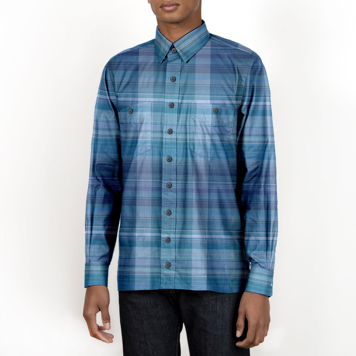 The Nowhere Plaid Long Sleeve Shirt