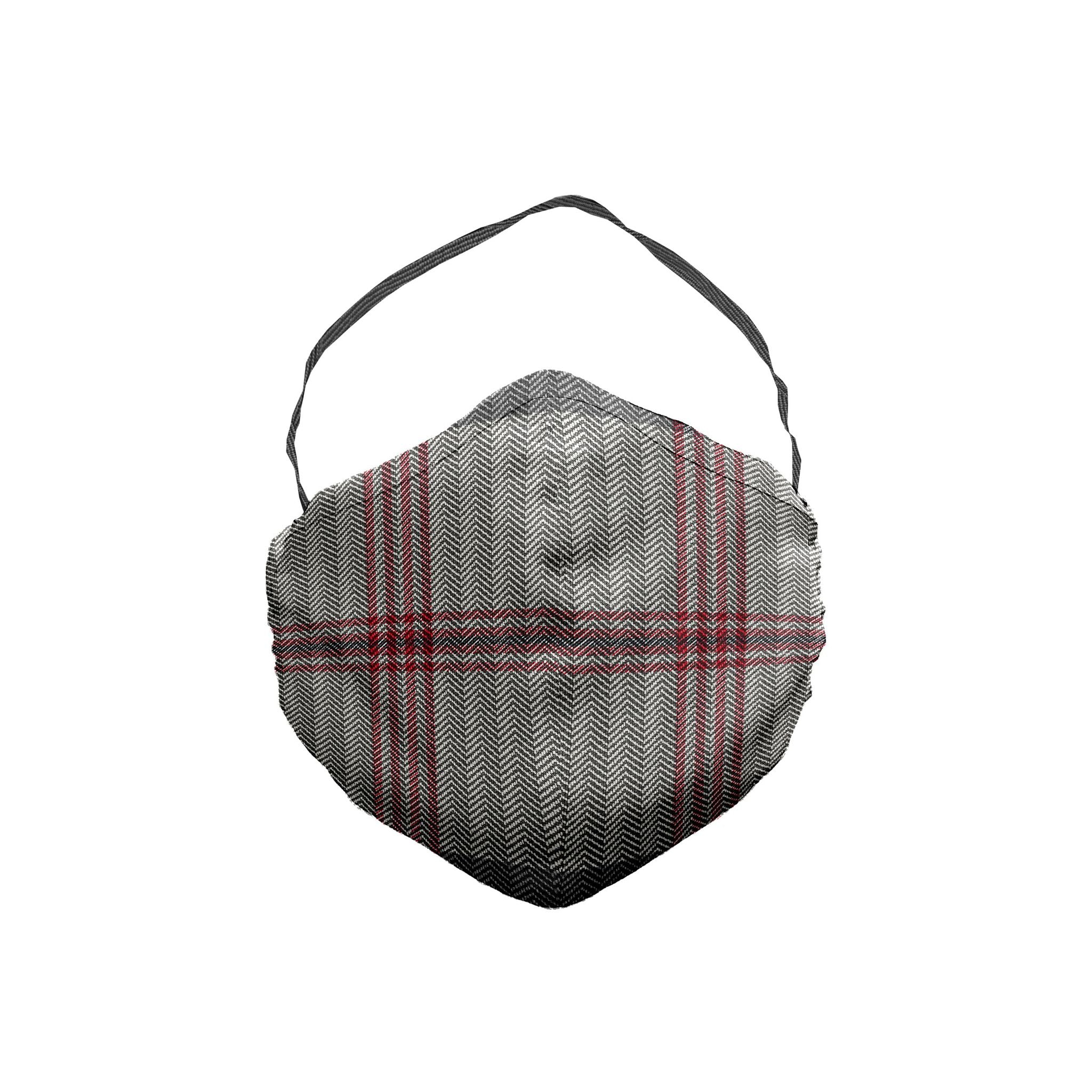 The Buffalo Stripe Tweed Face Mask 5 Pack
