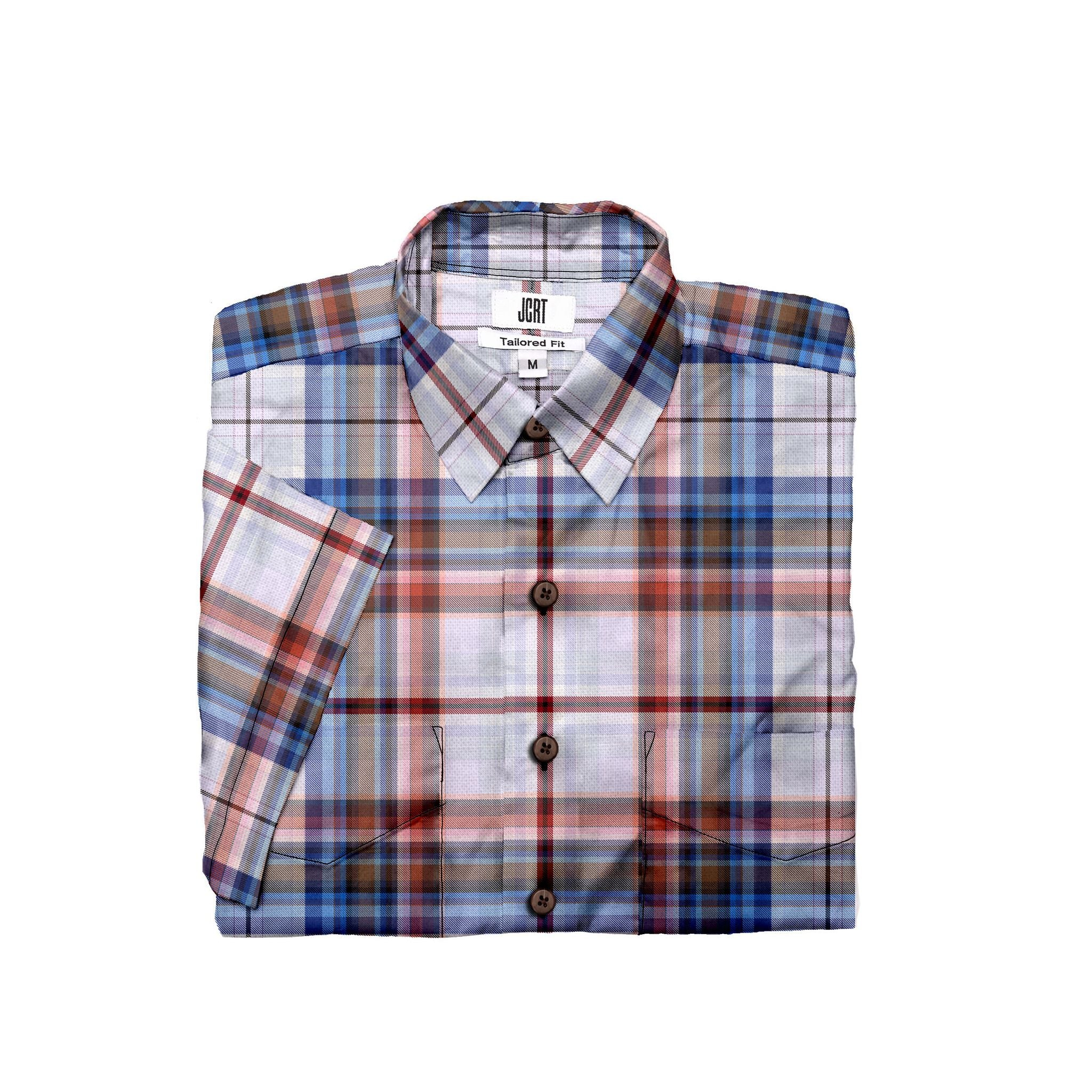 The Breakfast Club Plaid Short Sleeve Shirt