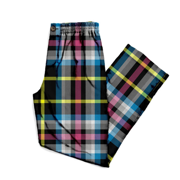 The Age of Consent Plaid Lounge Pant