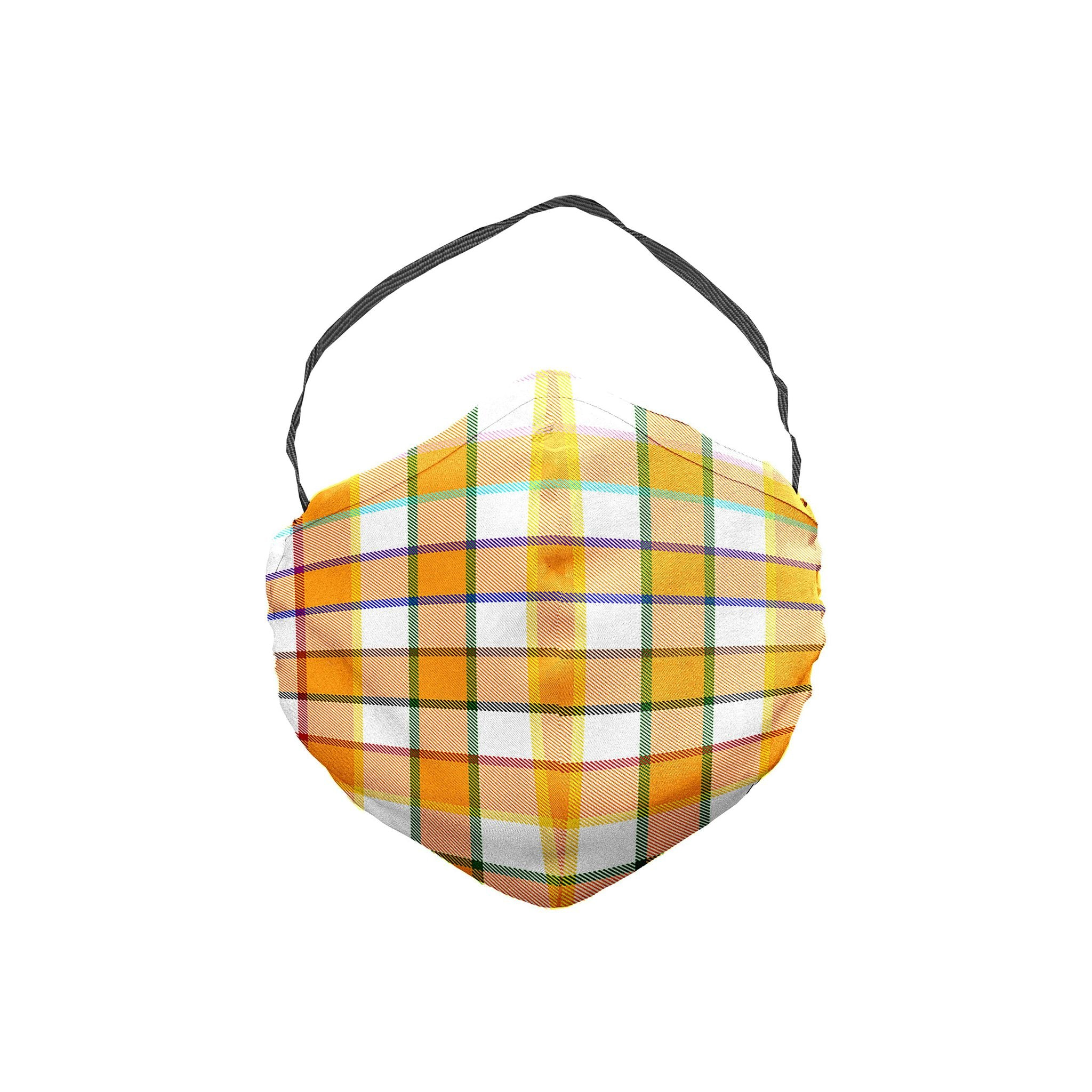 The Ali Forney Plaid Face Mask 5 Pack