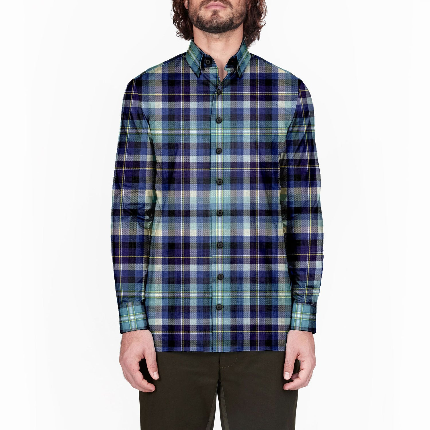 The Edward Scissorhands Plaid Flannel