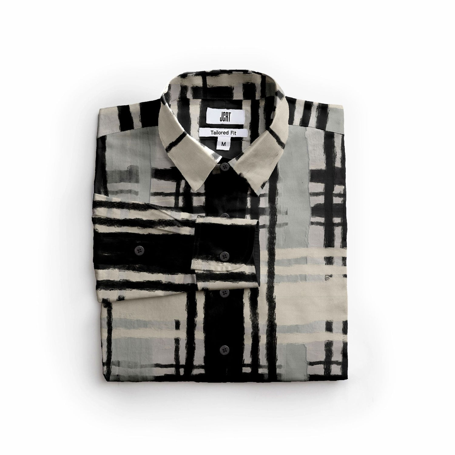 The Robert Motherwell Plaid Long Sleeve Shirt