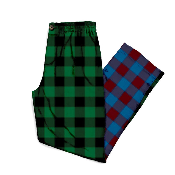The Mixed Buffalo Plaid Flannel Lounge Pant