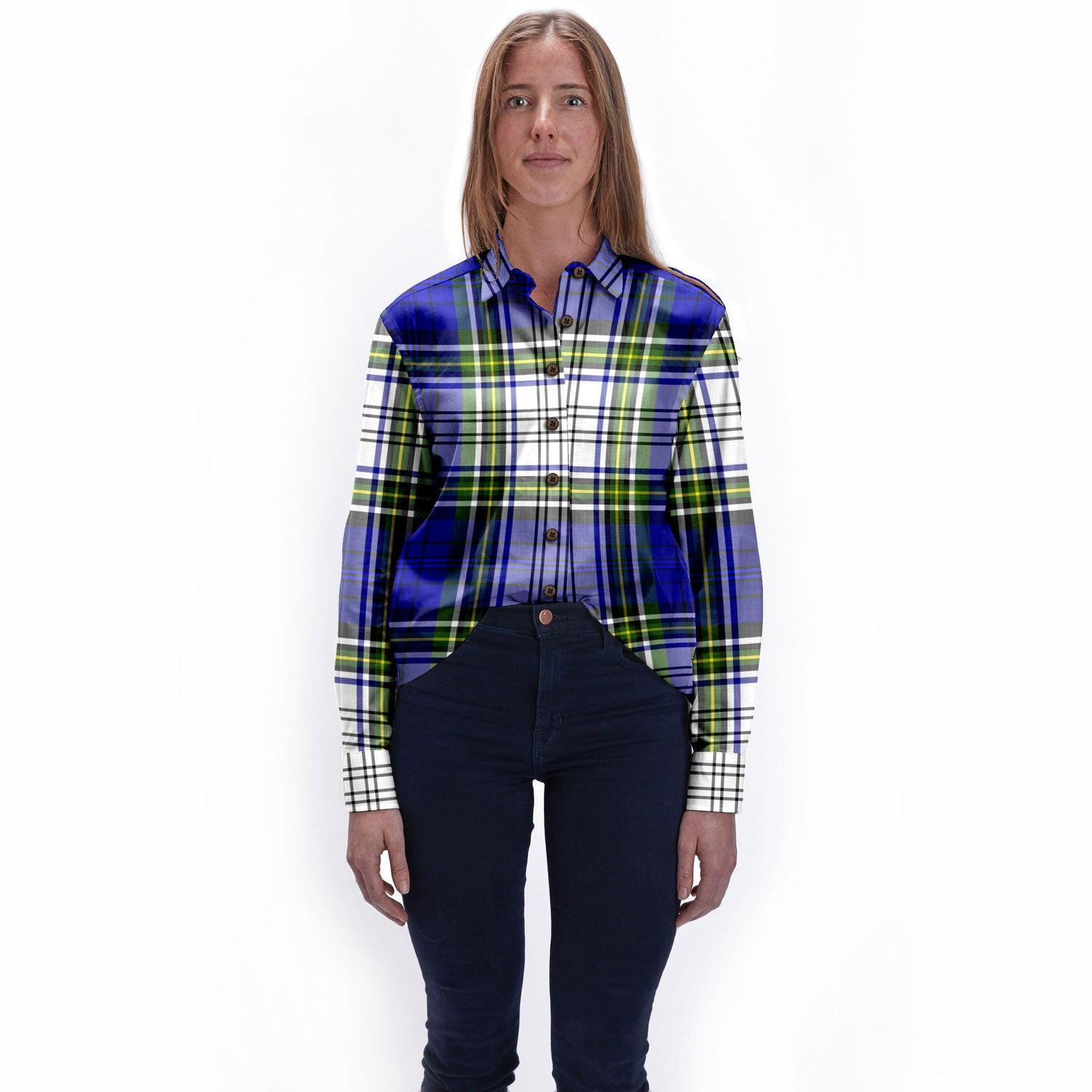 The Danny Torrance Plaid Womens Flannel