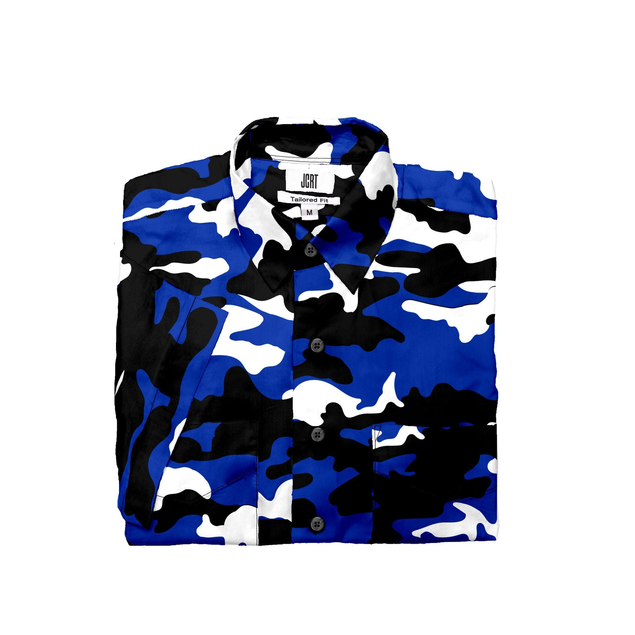 The Blue Devils Camouflage Short Sleeve Shirt