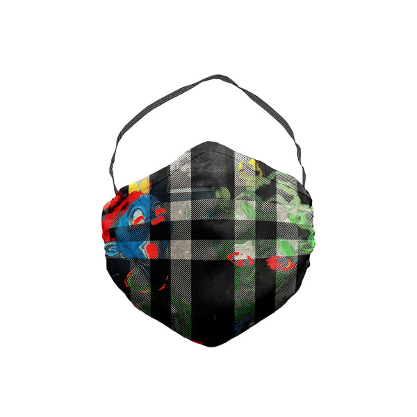 The Scooter Smurf Plaid Face Mask 5 Pack