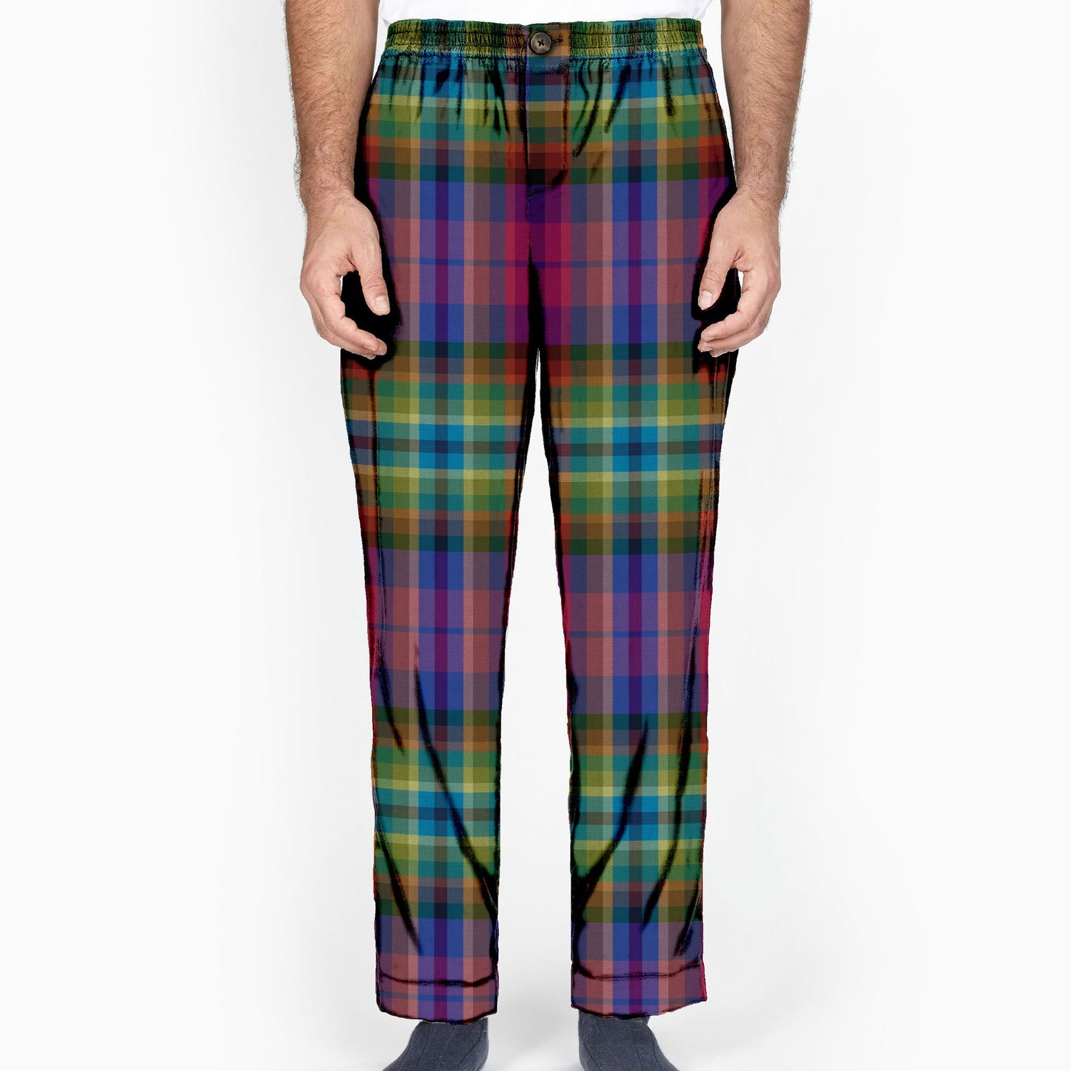 The Technique Plaid Lounge Pant