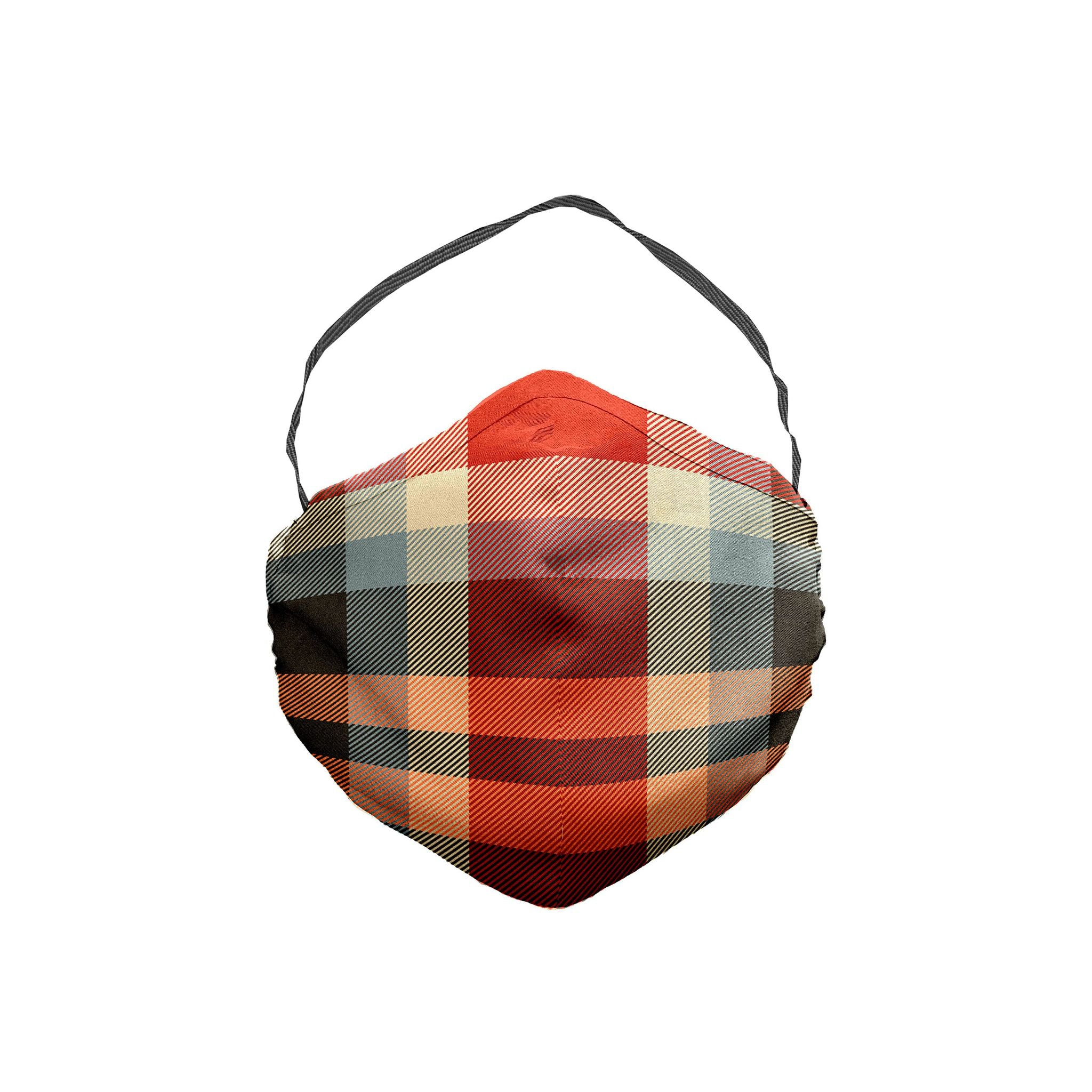 The Kick Inside Plaid Face Mask 5 Pack
