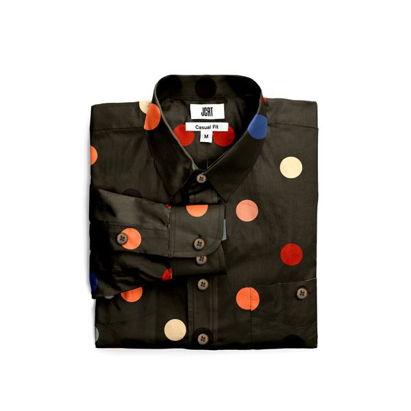 The Kick Inside Polka Dot Long Sleeve Shirt