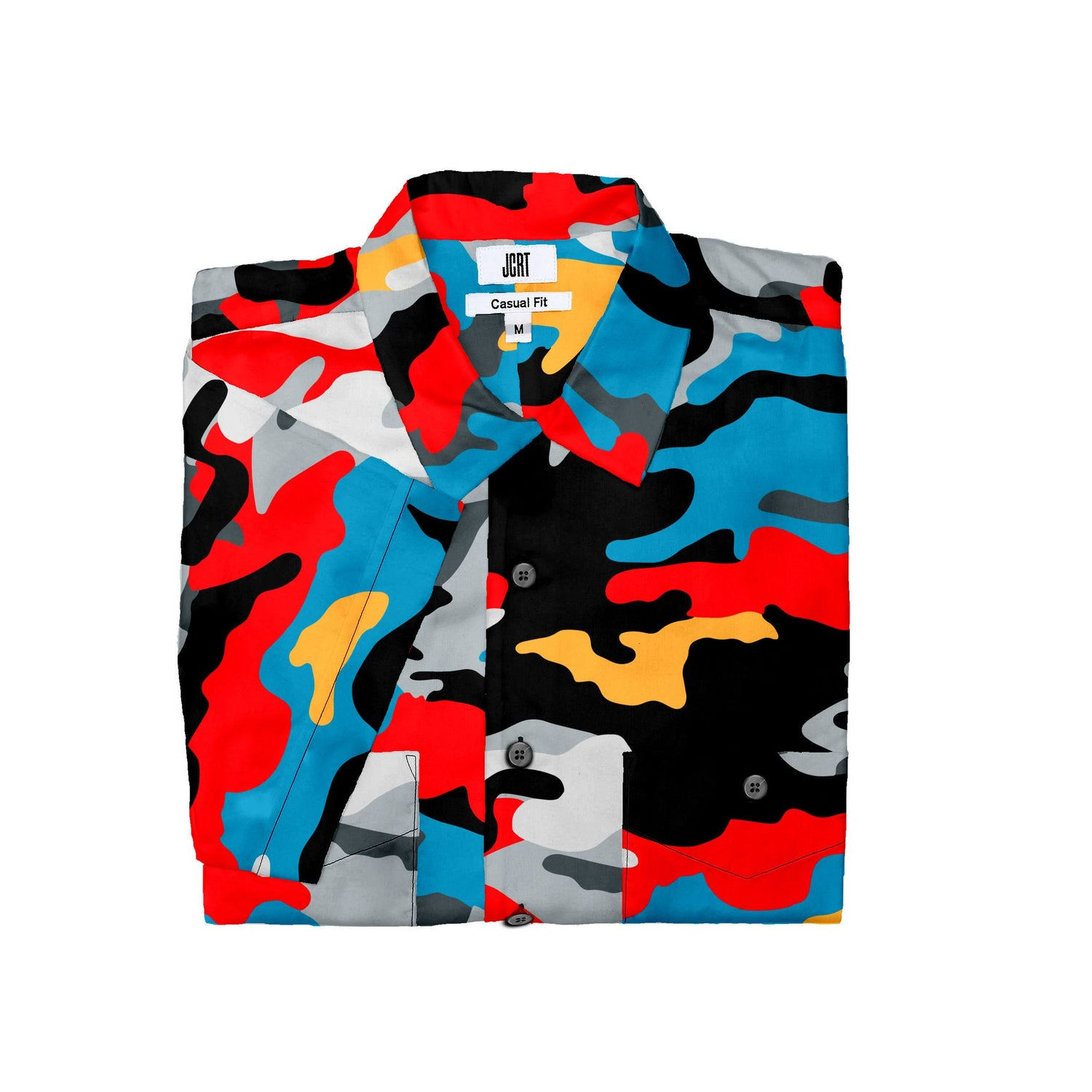 The Out Of The Blue Camouflage Short Sleeve Shirt