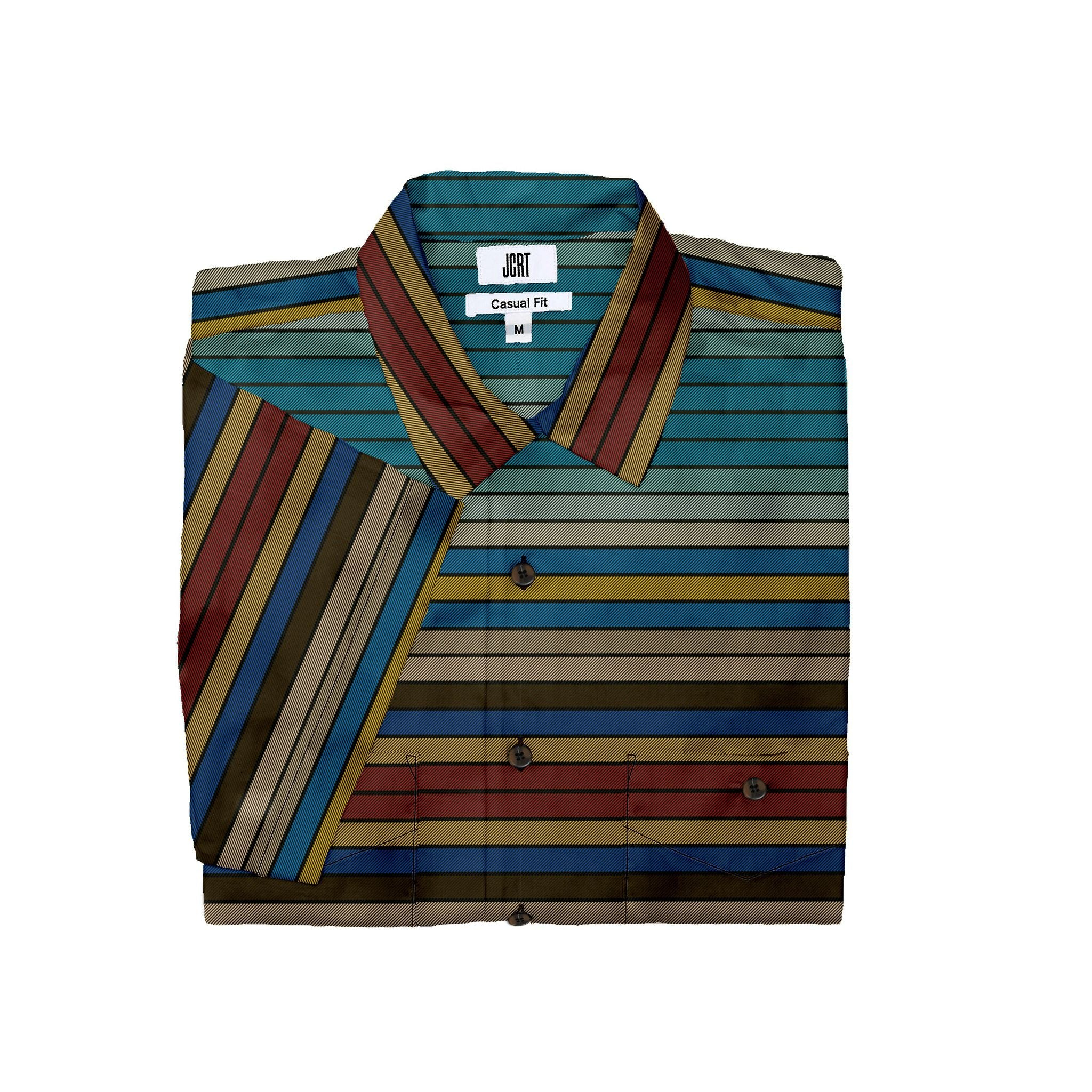 The Time Bandits Stripe Short Sleeve Shirt